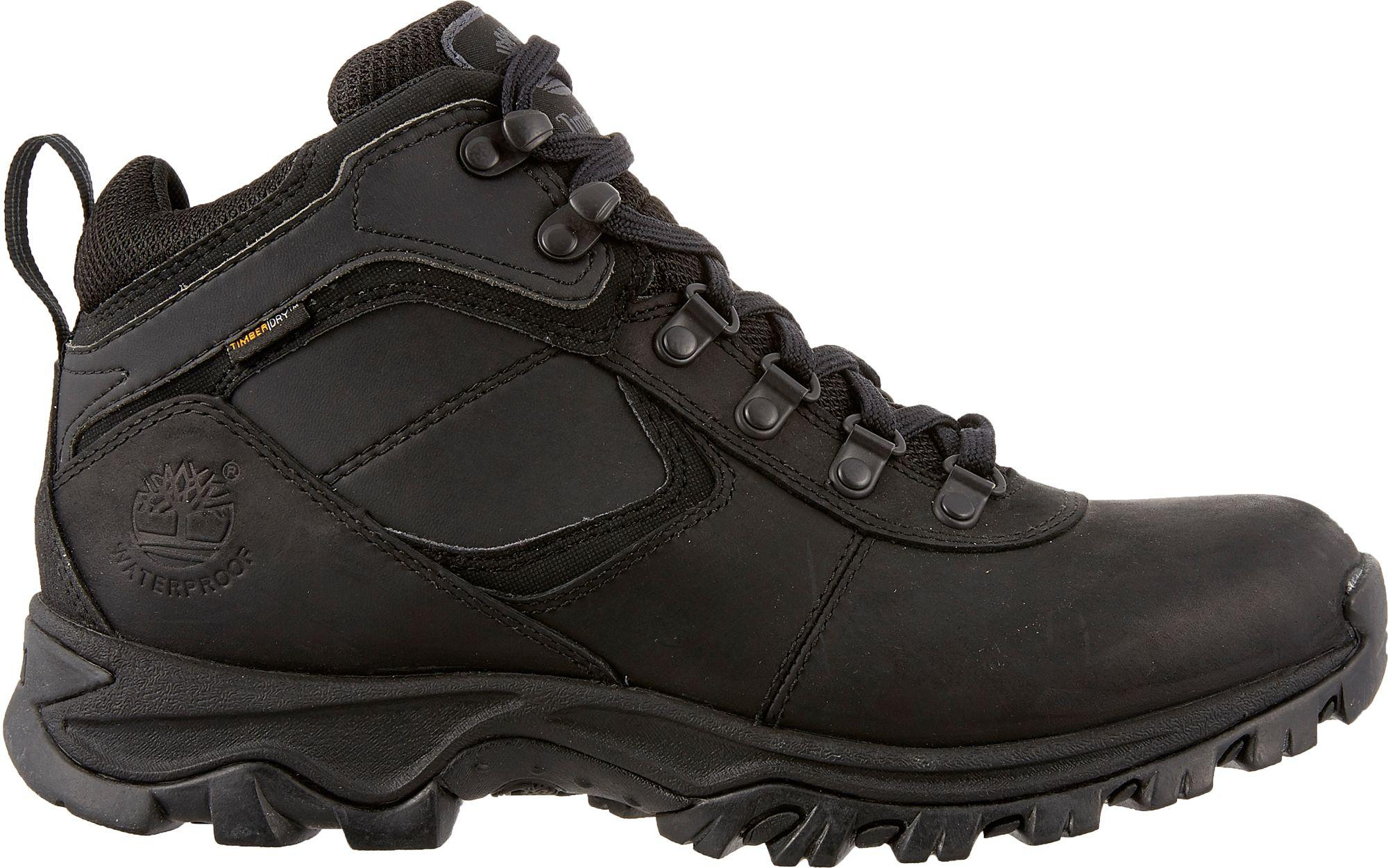 031cee576ae6 Timberland - Black Earthkeepers Mt. Maddsen Mid Waterproof Hiking Boots for  Men - Lyst