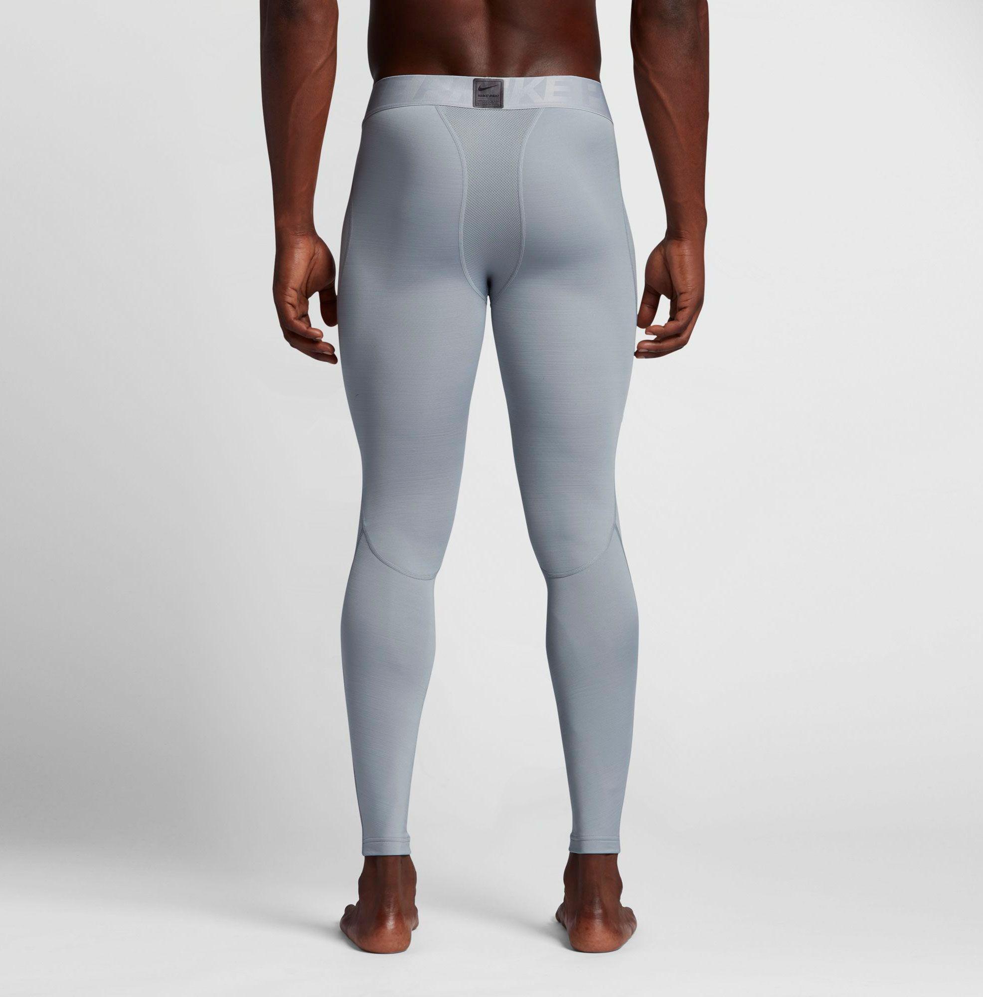 d4e22b13f5023 Nike - Gray Pro Aeroloft Tights for Men - Lyst. View fullscreen
