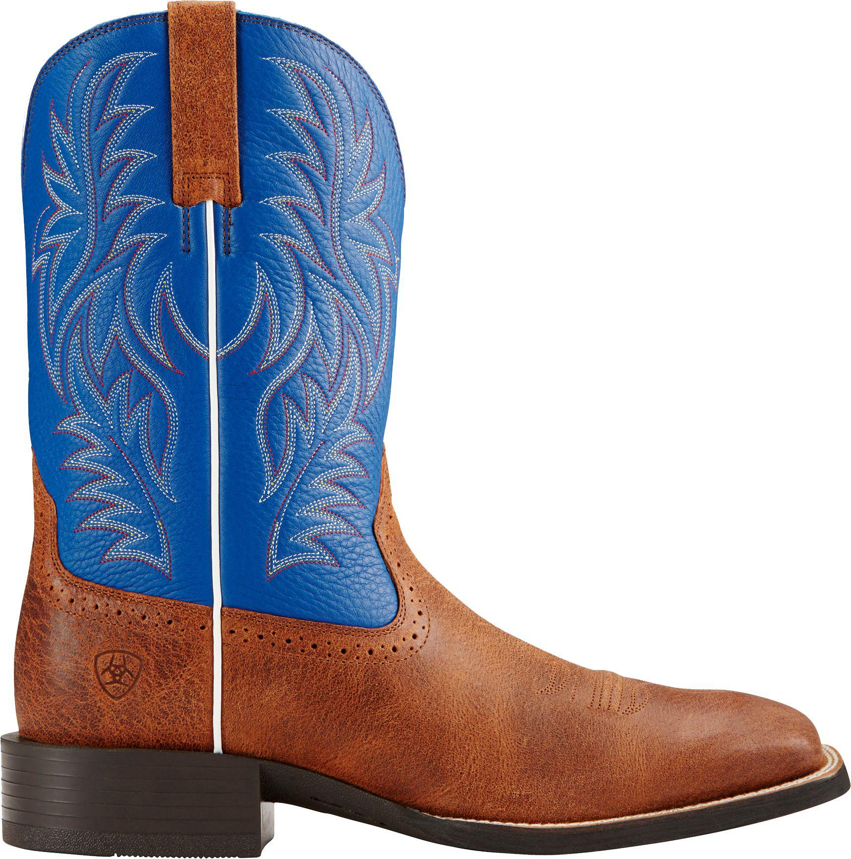 7a5884025a2 Ariat Brown Sport Rider Western Boots for men