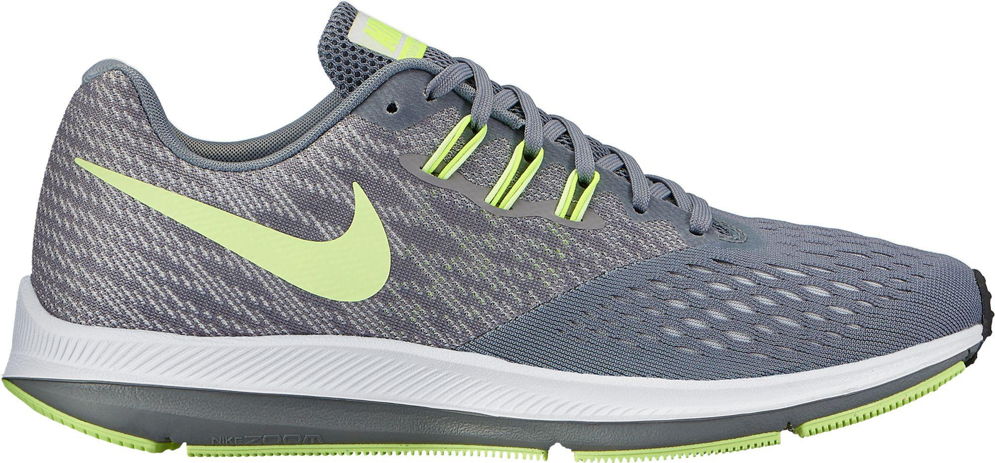 929ab5467bd Lyst - Nike Air Zoom Winflo 4 Running Shoes in Gray for Men