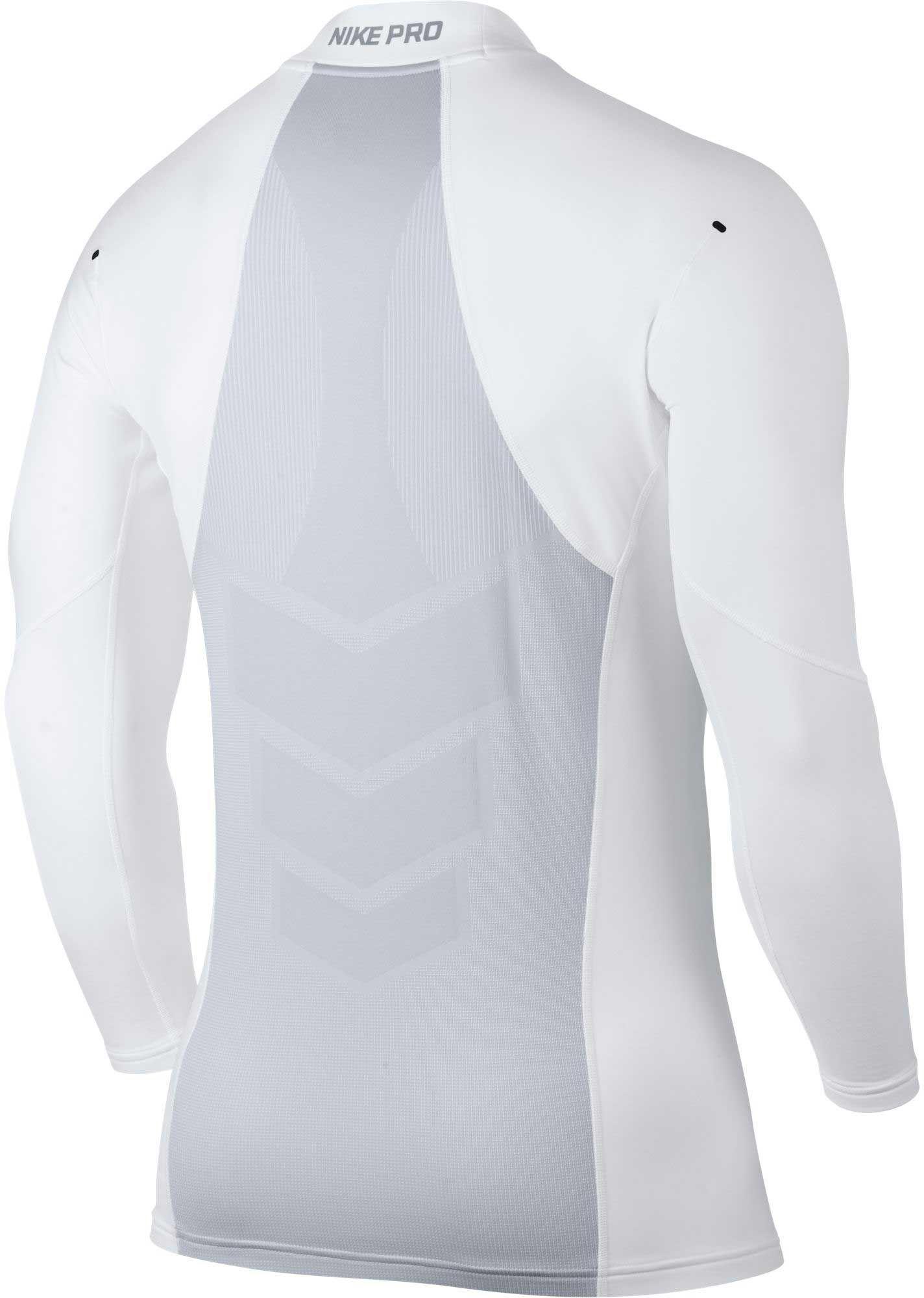 9bdfbb1bf5a37 Nike Pro Hyperwarm Aeroloft Mens Long Sleeve Training Top Black