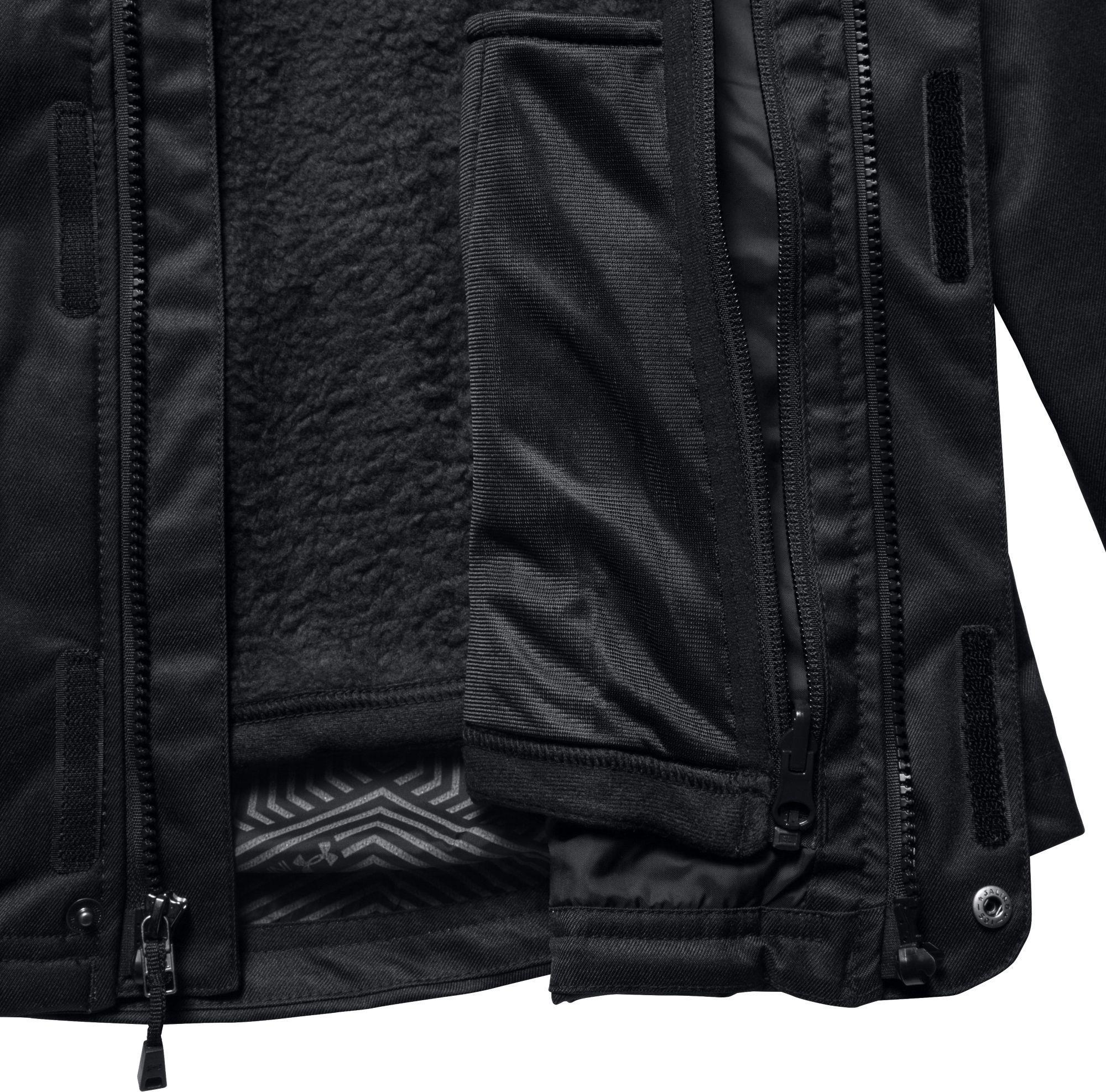 db760af0 Under Armour Black Coldgear Infrared Sienna 3-in-1 Jacket
