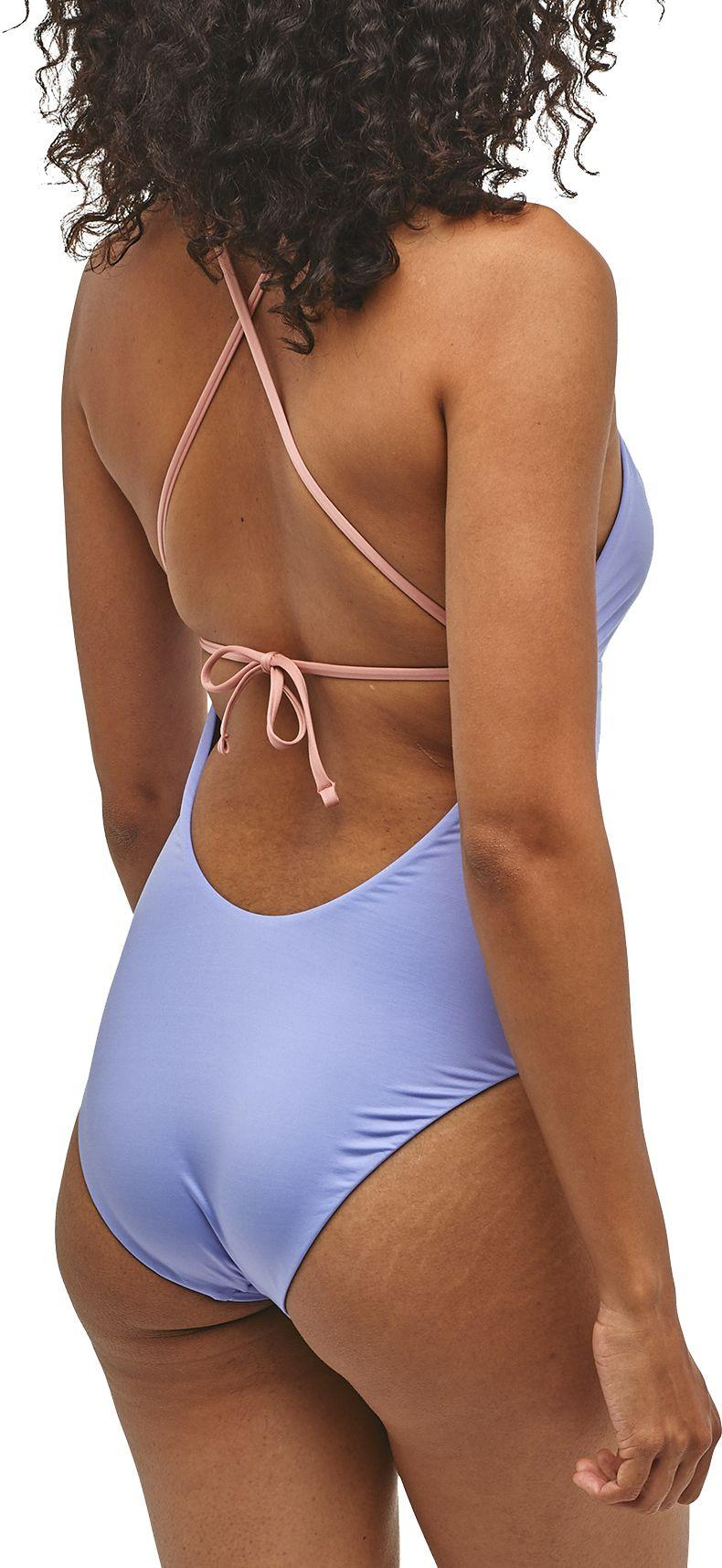 f3afed7449dcf Patagonia - Blue Glassy Dawn Crossback One Piece Swimsuit - Lyst. View  fullscreen