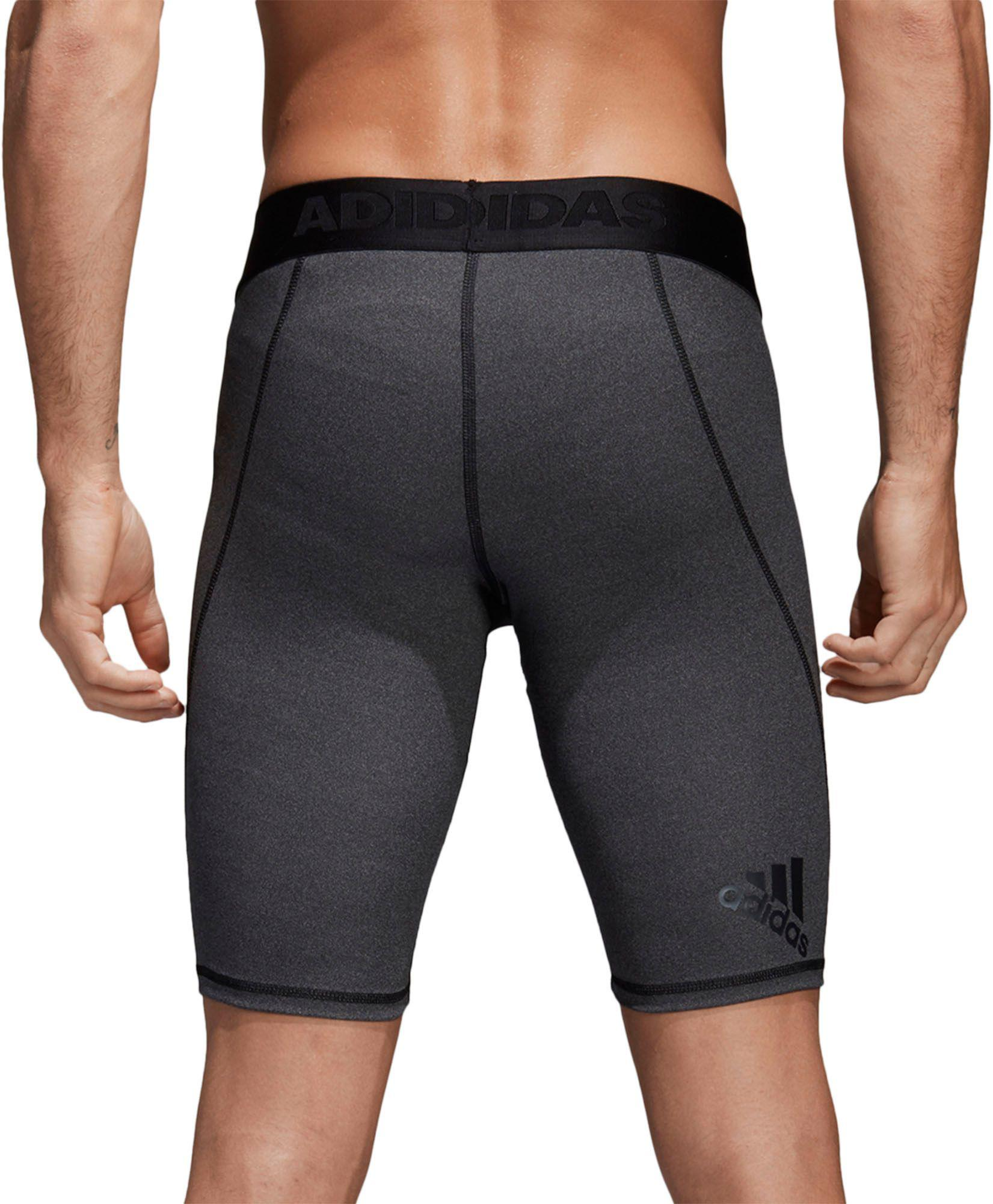 90b5c5b22 Lyst - adidas Alphaskin Sport Training Fitted Shorts in Black for Men