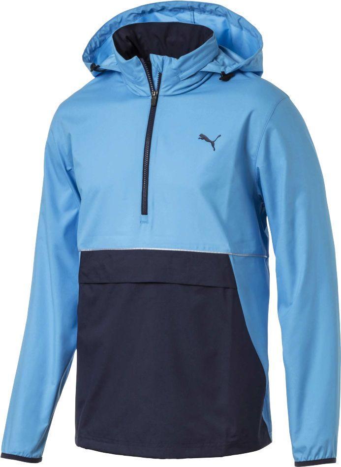 37bed50abdc1 Lyst - PUMA Retro Wind Golf Jacket in Blue for Men