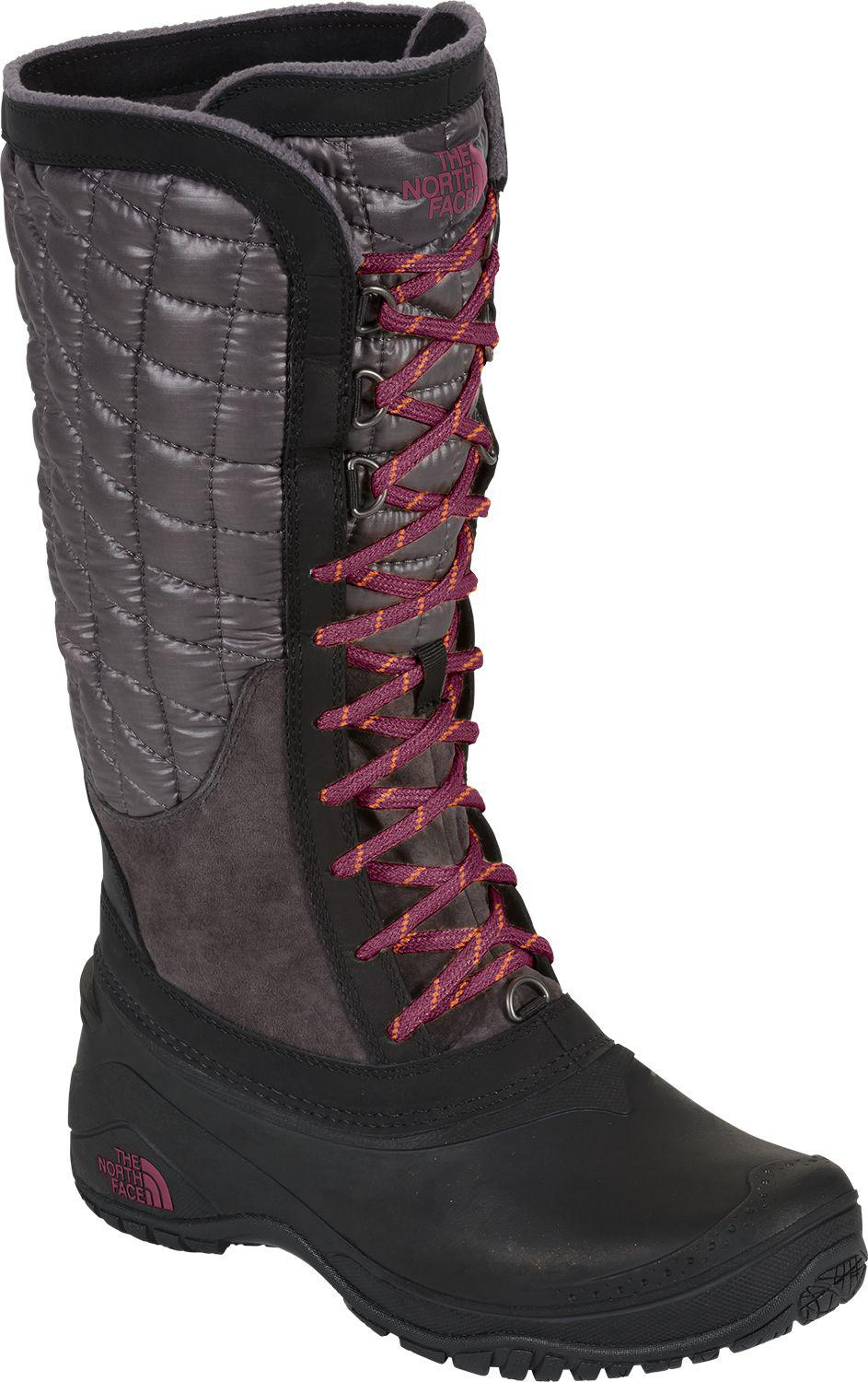 81f93cbcd The North Face Purple Thermoball Utility Insulated Waterproof Winter Boots  for men