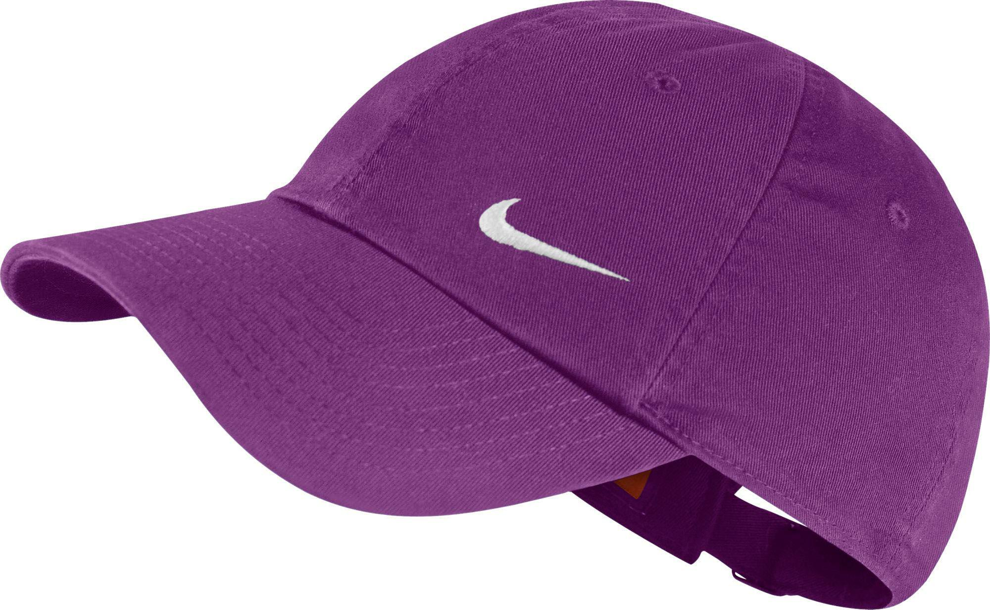 detailed look e9000 2725a ... good lyst nike heritage 86 swoosh cap in purple 27f1c 230be