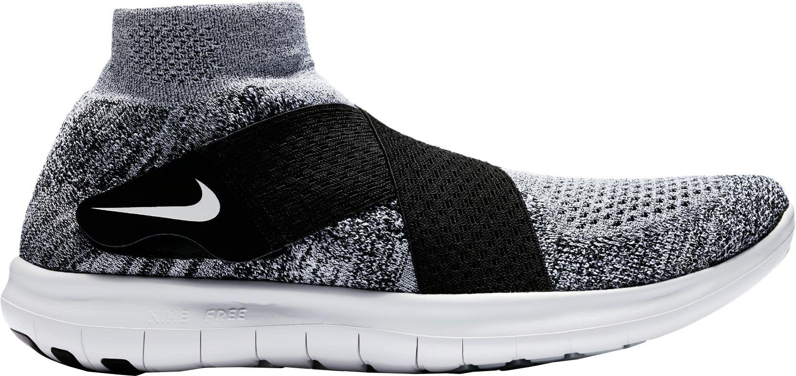 Nike | Black Free Rn Motion Flyknit 2 Running Shoes for Men | Lyst