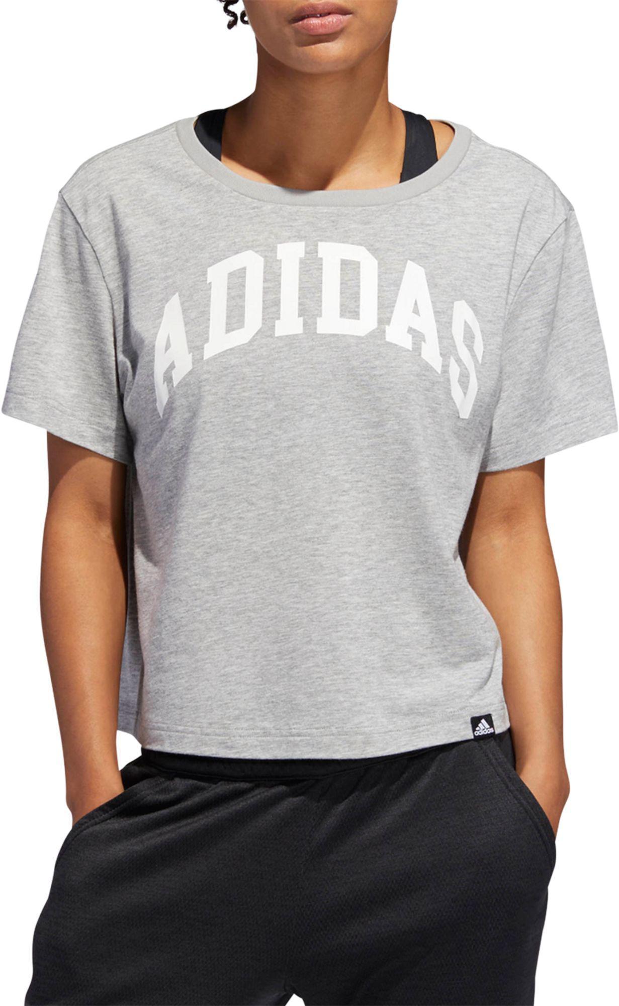 976870b62 Lyst - adidas Essentials Varsity T-shirt in White