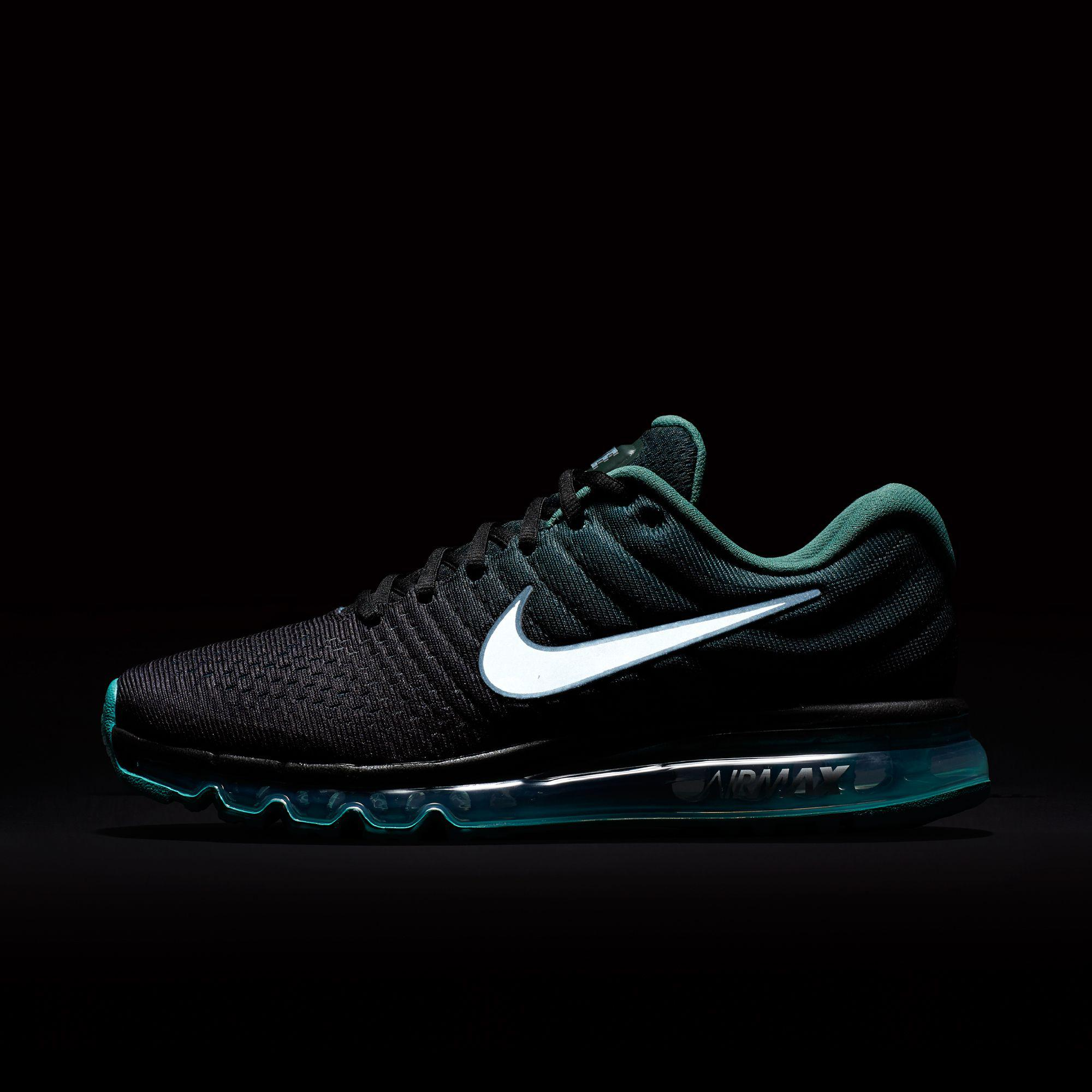 huge discount 452e3 dc343 Nike - Green Air Max 2017 Running Shoes for Men - Lyst