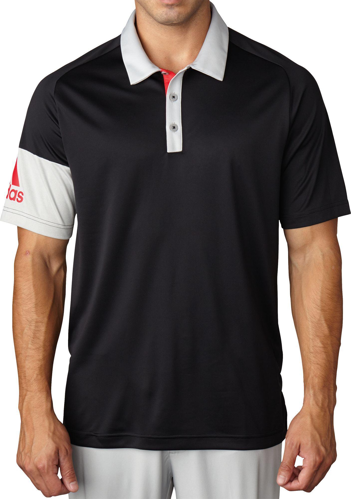 6db08932f9d Adidas Golf Climacool Gradient Block Polo Shirt | Top Mode Depot
