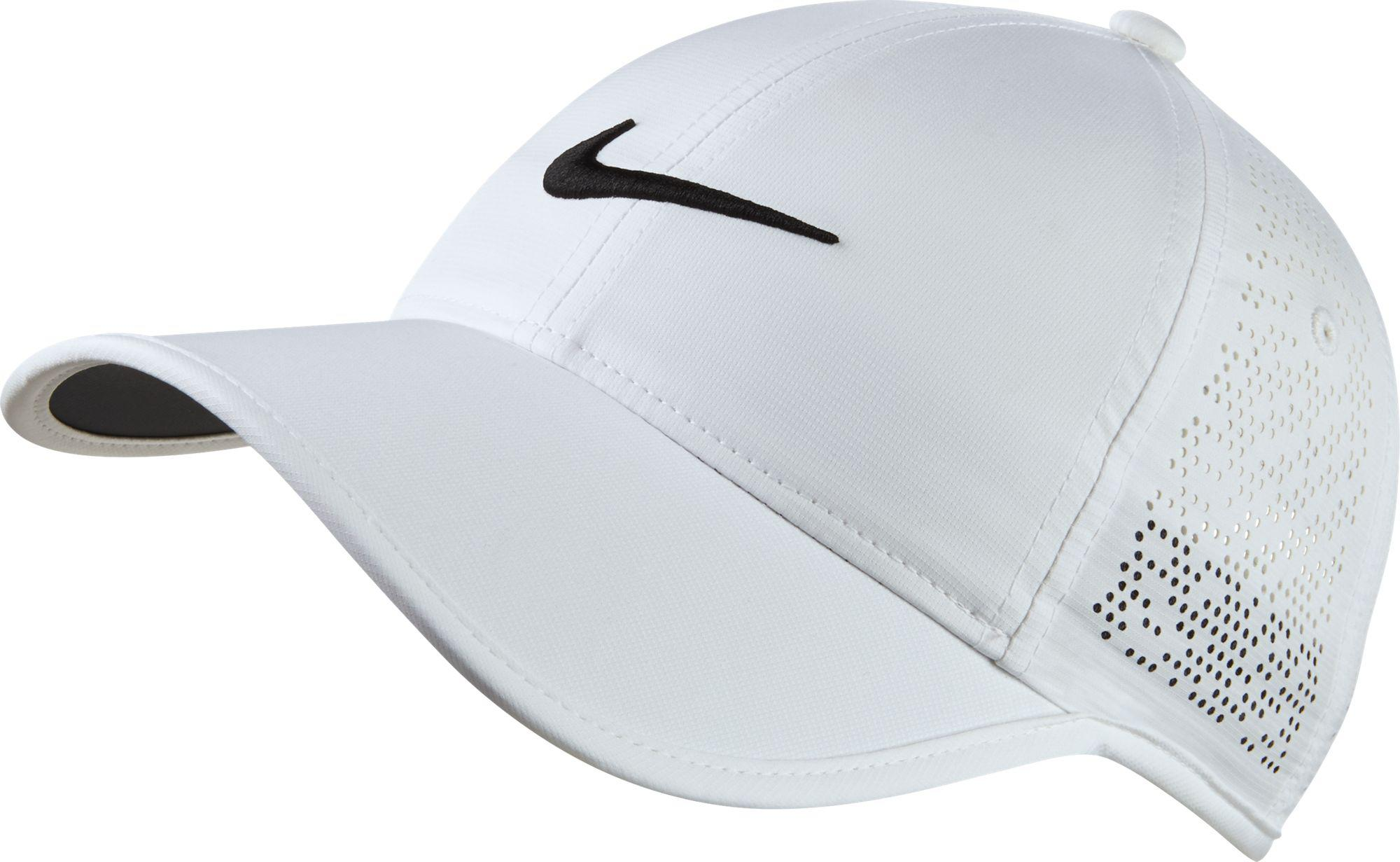 d2042f98915 Lyst - Nike Perforated Golf Hat in White