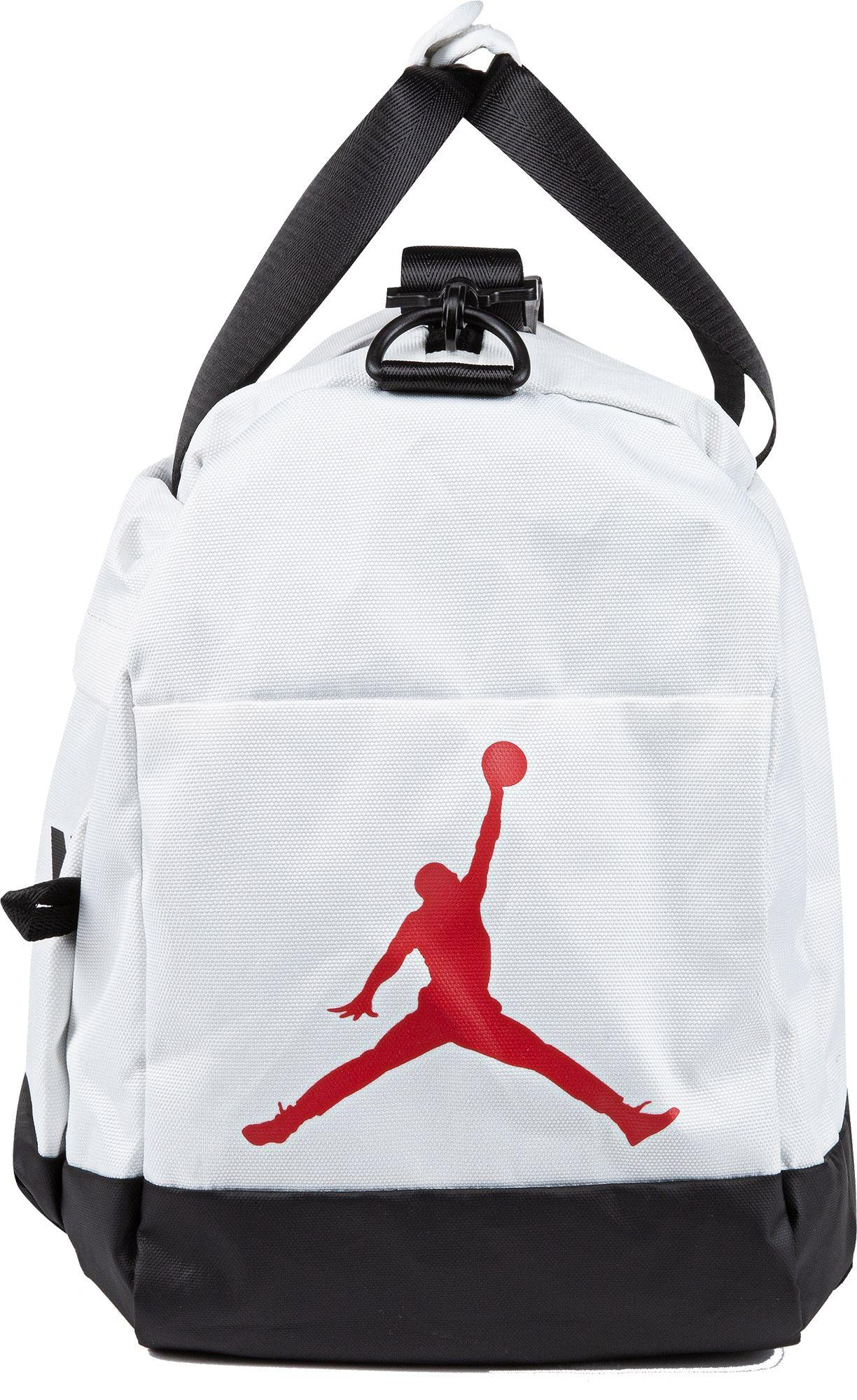 Nike Synthetic Velocity Duffle Bag in White for Men - Lyst