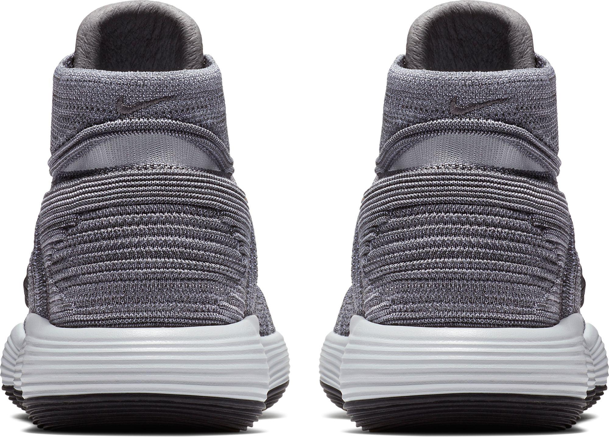 4919585b0817d Nike - Gray React Hyperdunk 2017 Flyknit Basketball Shoes for Men - Lyst