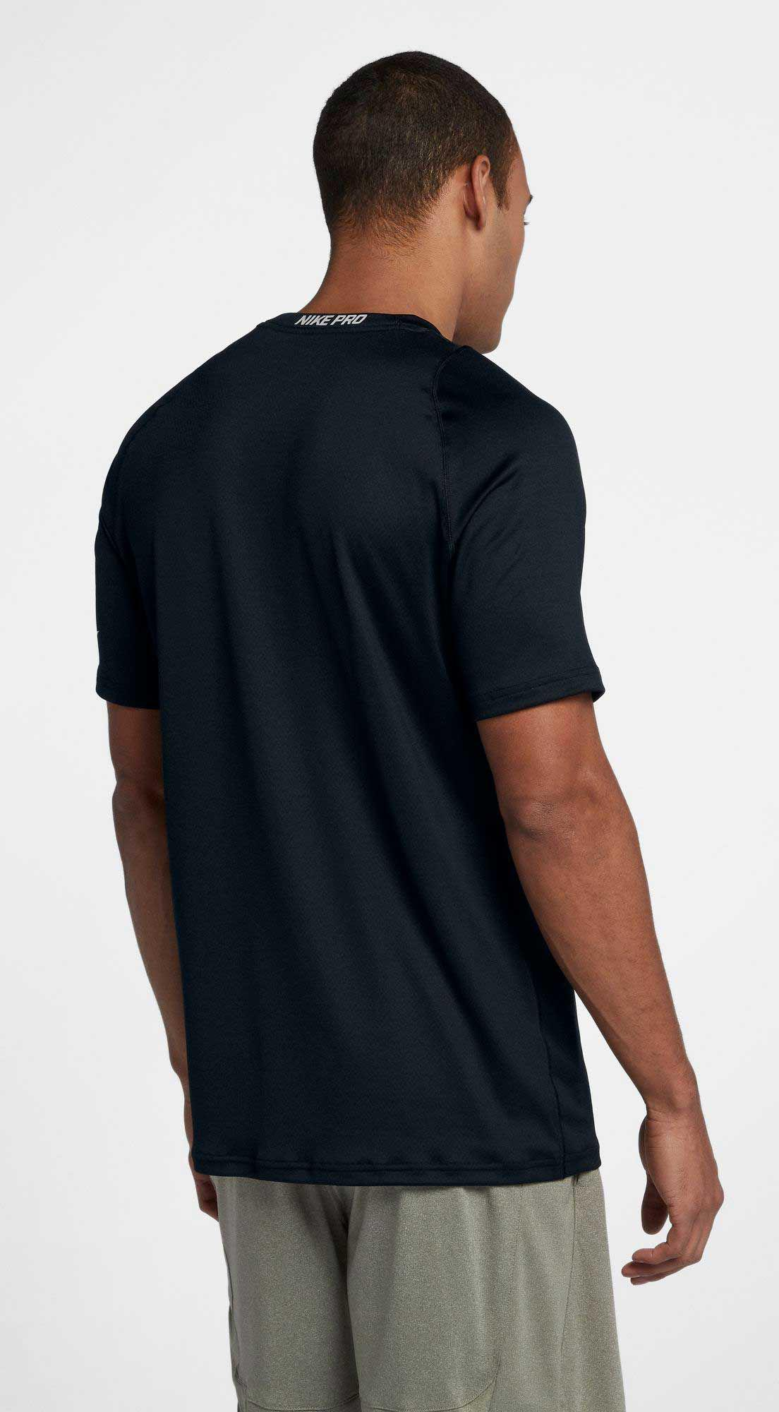 40c007265c Nike Pro Colorburst 2 T-shirt in Black for Men - Lyst