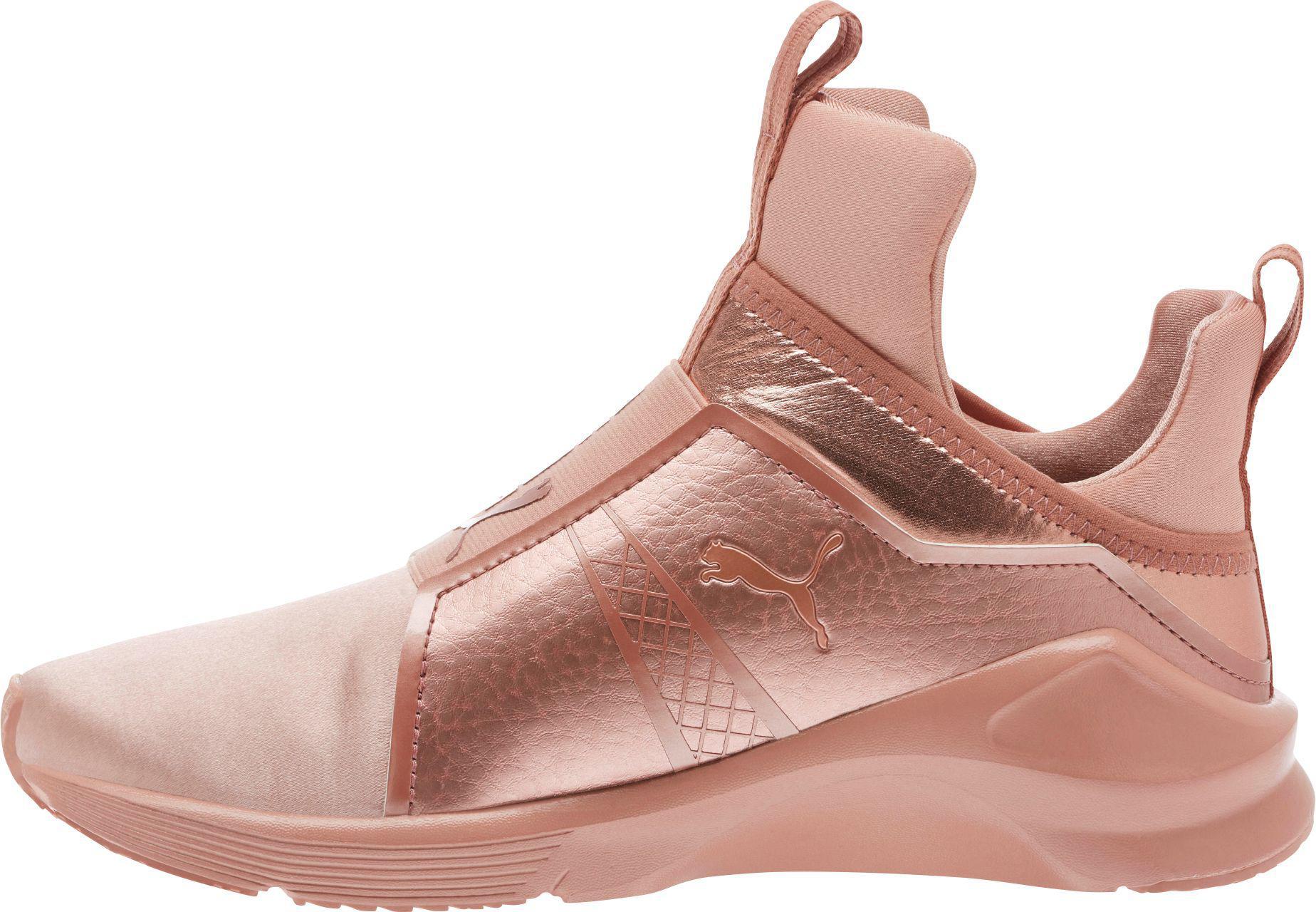 2ca9d4754140 Lyst Lyst Puma Fierce Shoes Pink Rope in Velvet RRO1qrw