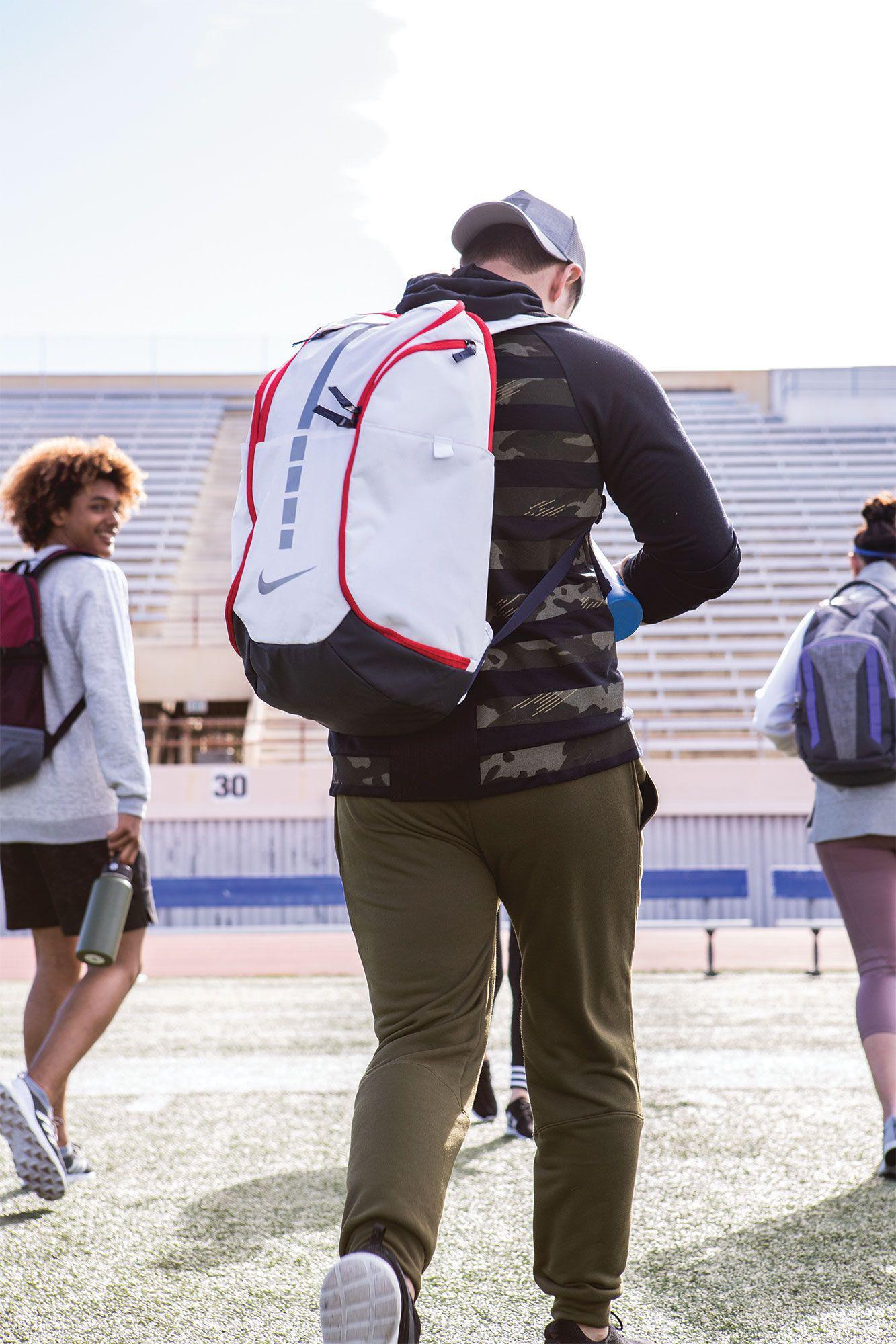 50d927a4228ea1 Nike - Red Hoops Elite Pro Basketball Backpack for Men - Lyst. View  fullscreen