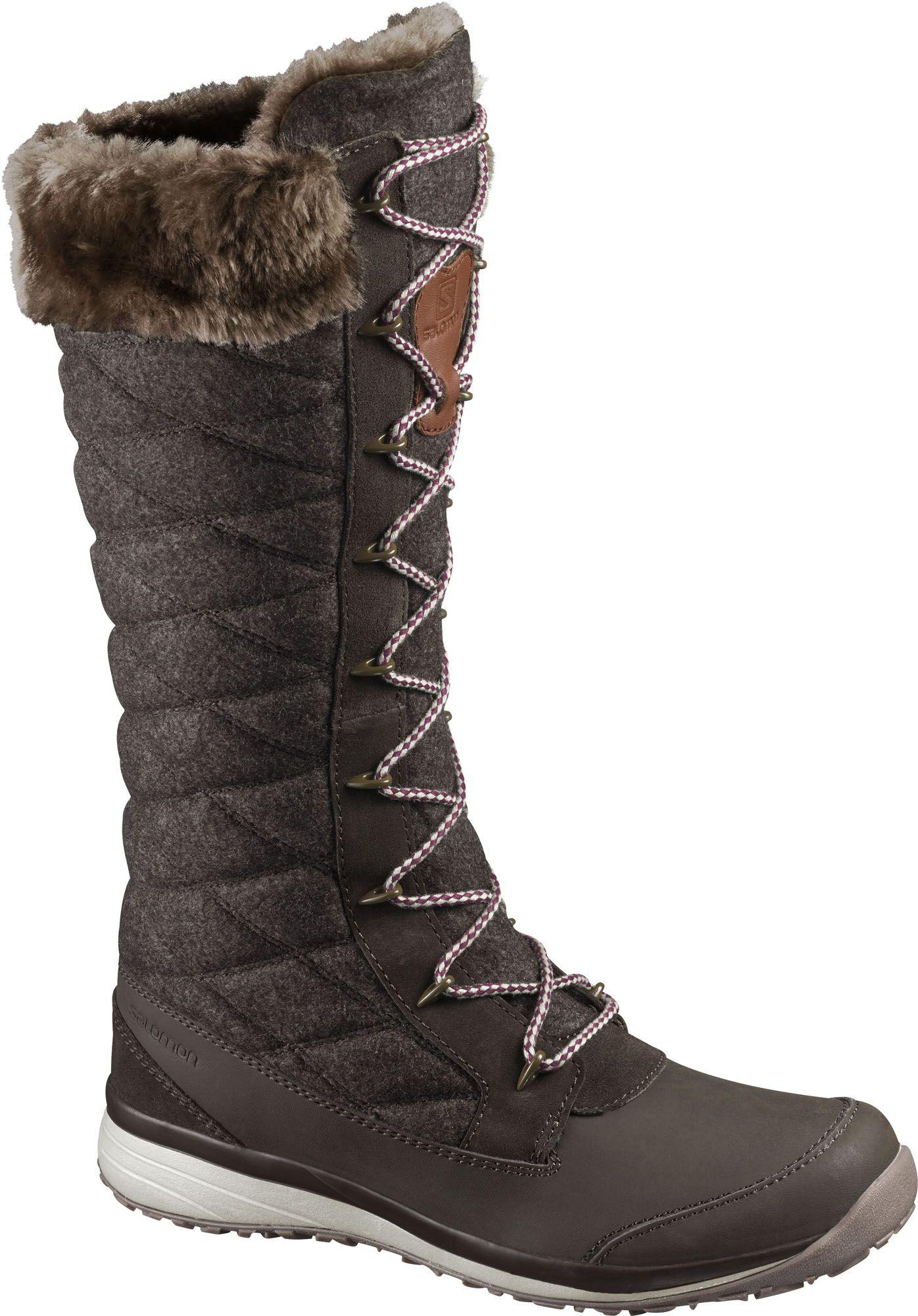 lowest discount save up to 80% biggest discount Yves Salomon Hime High Winter Boots in Brown - Lyst