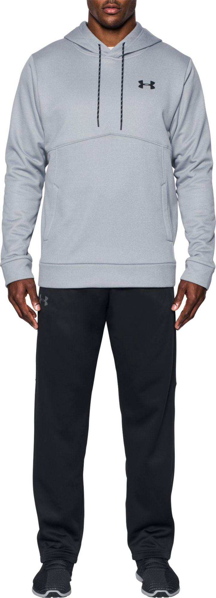 Under Armour Armour Fleece Icon Solid Pullover Hoodie in