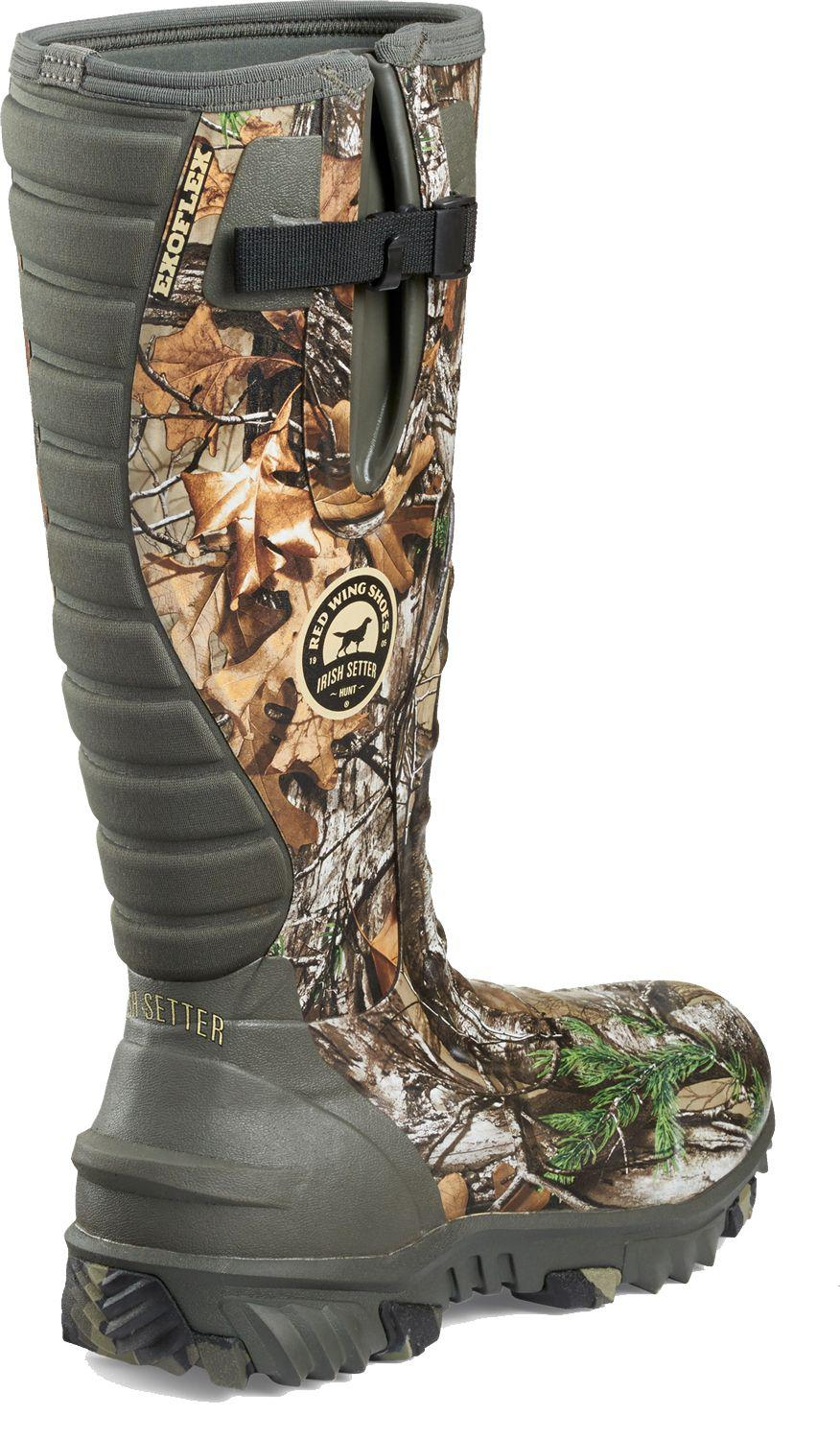 adaec6d7312 Irish Setter Multicolor Rutmaster 2.0 800g Rubber Hunting Boots for men