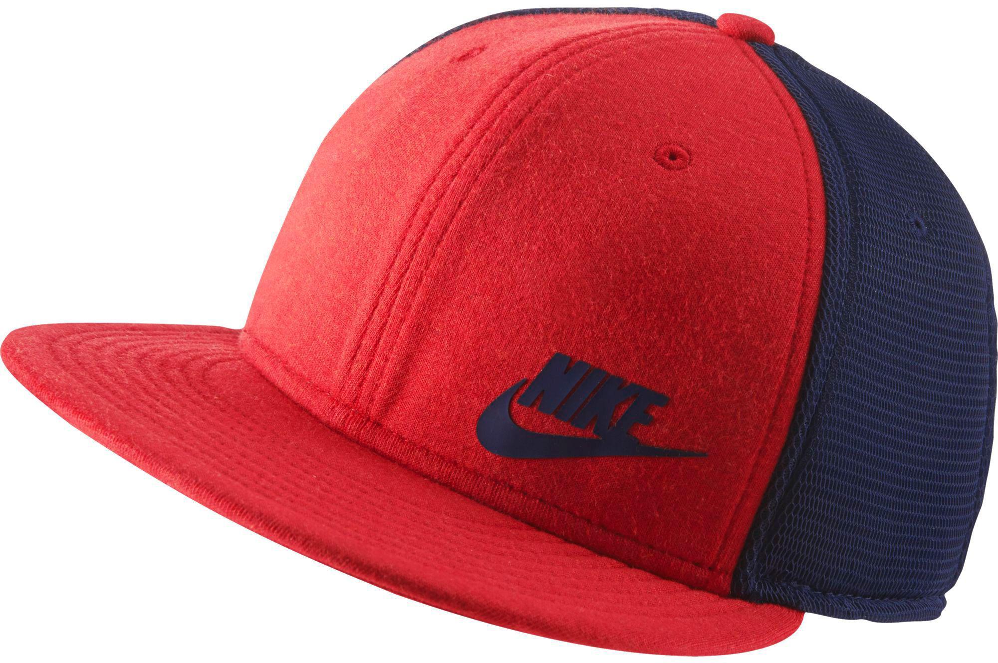 5179b4dc6 Nike Red True Tech Pack Adjustable Snapback Hat for men