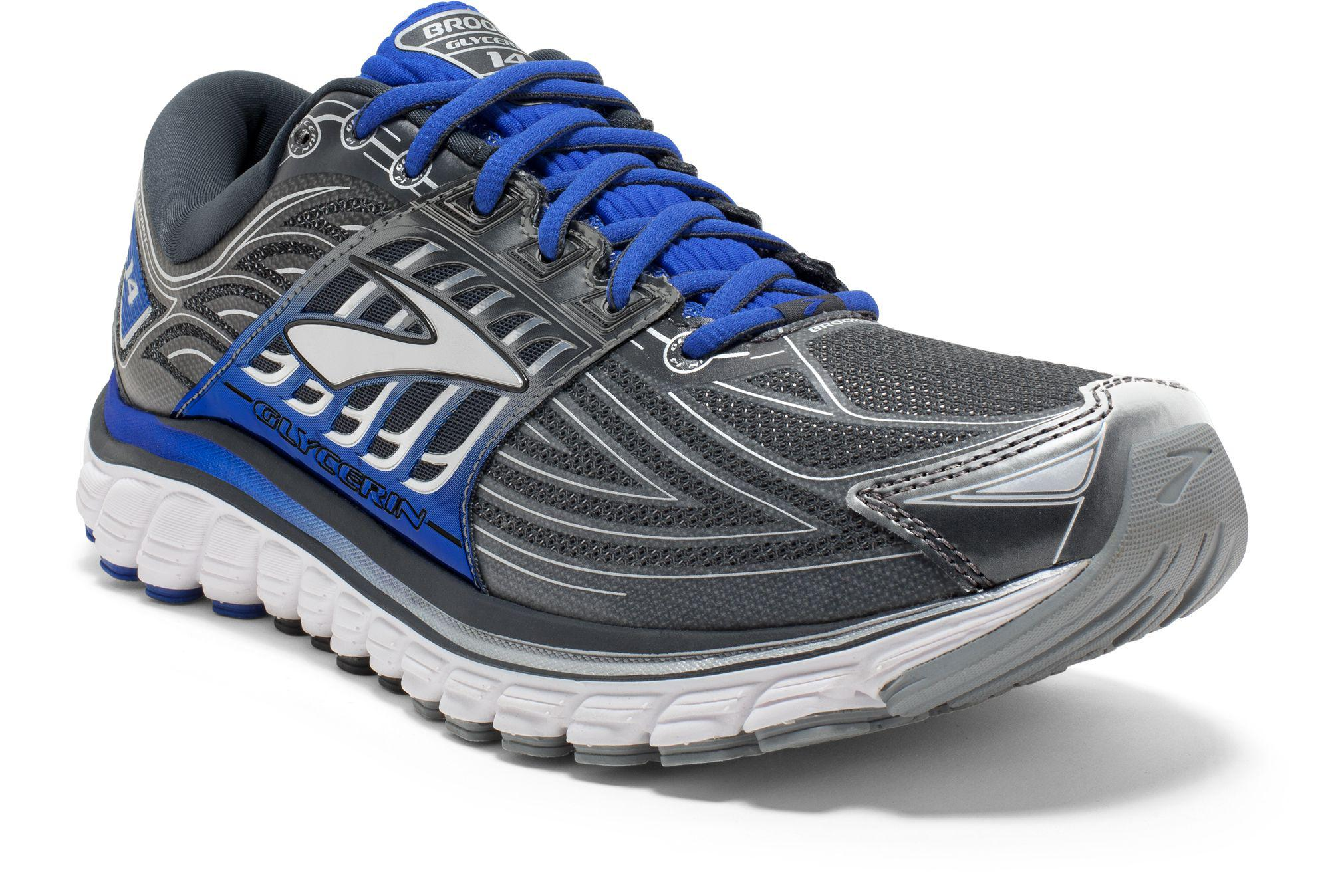 39238a85ba09d Lyst - Brooks Glycerin 14 Running Shoes in Gray for Men