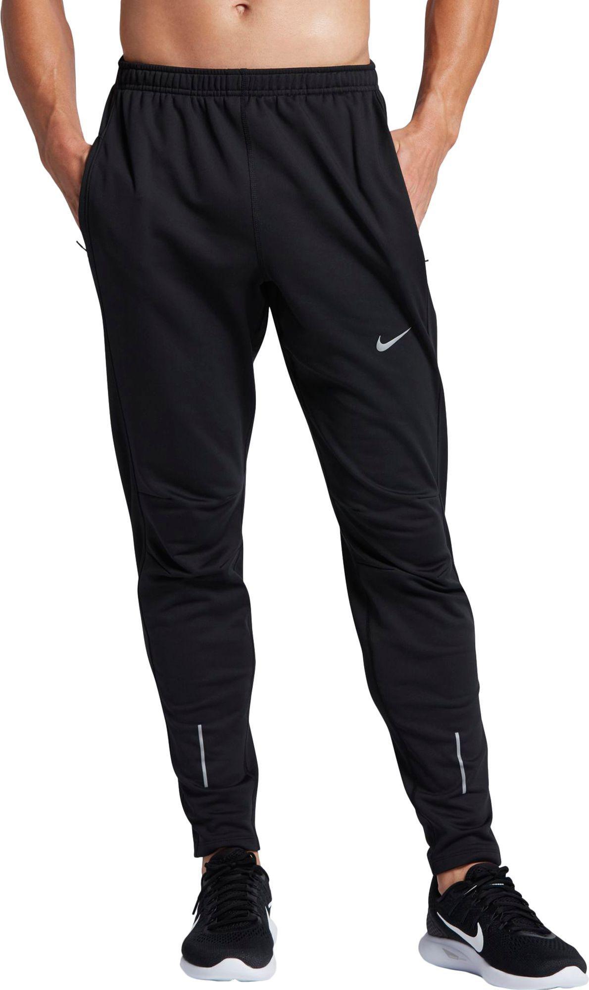 6ac25f12fb47 Lyst - Nike Dri-fit Thermal Running Pants in Black for Men