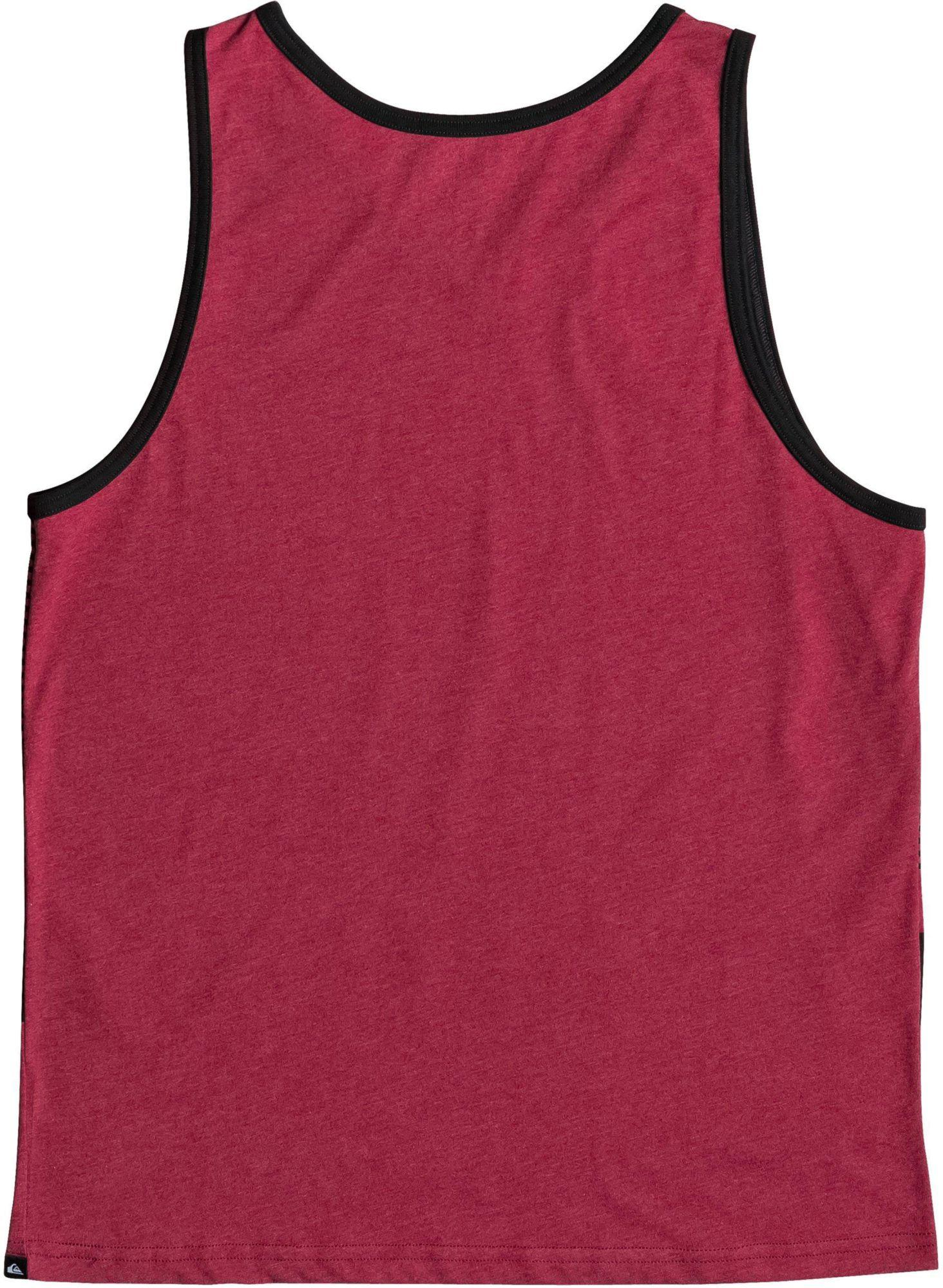 e64a7fabce44e0 Lyst - Quiksilver Highline Tijuana Tank Top in Red for Men