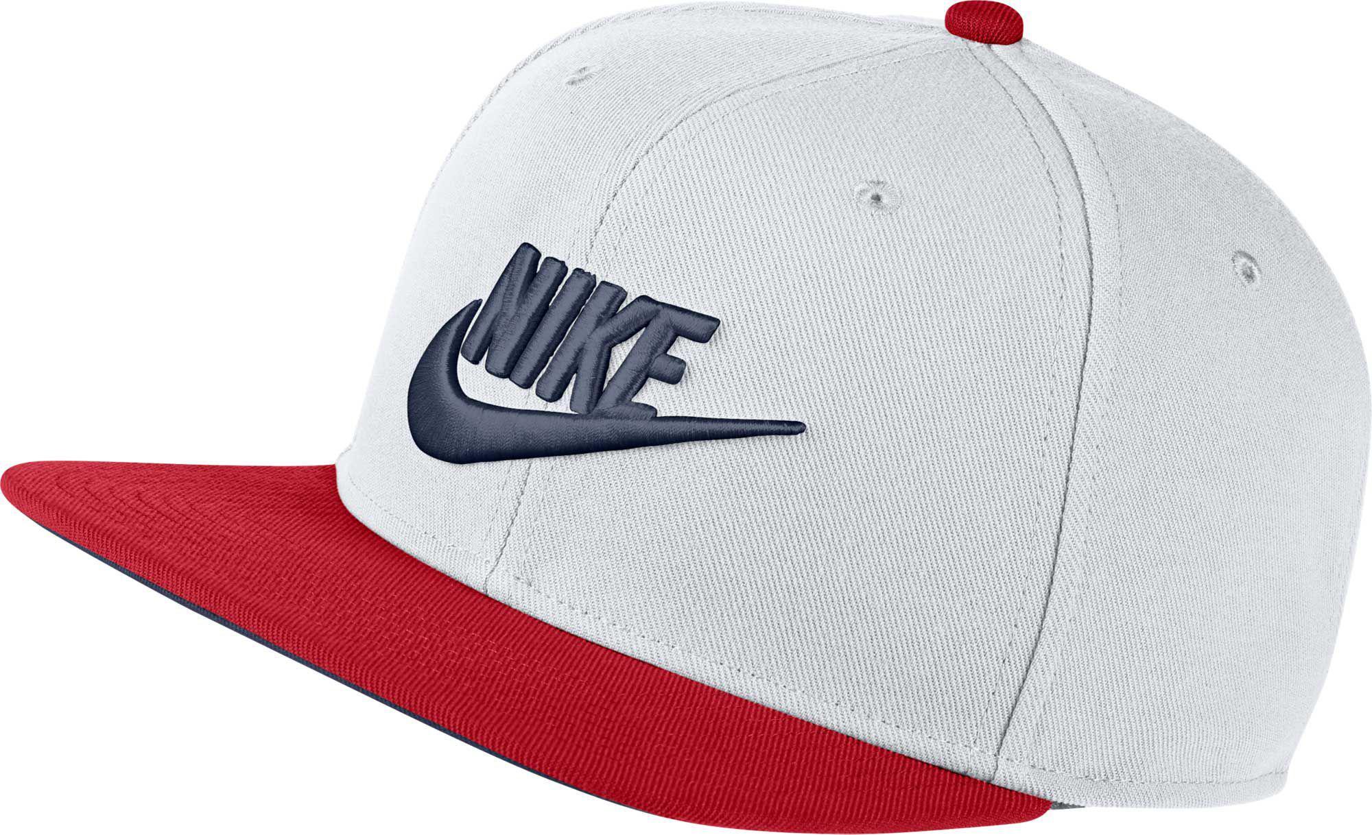 best sneakers 8eb68 2c47f Nike. Men s White Sportswear Futura Pro Adjustable Hat
