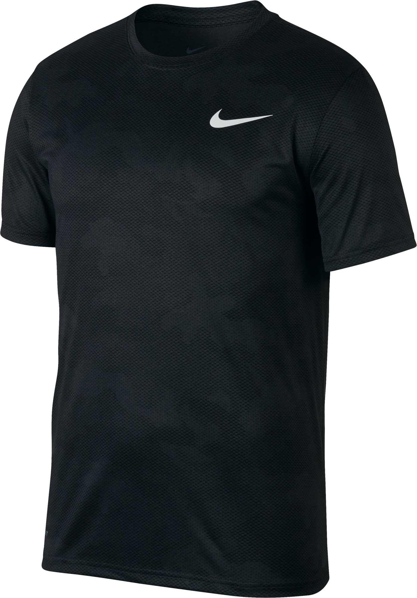 e92aba8619a619 Nike Dry Legend Camo Training T-shirt in Black for Men - Lyst