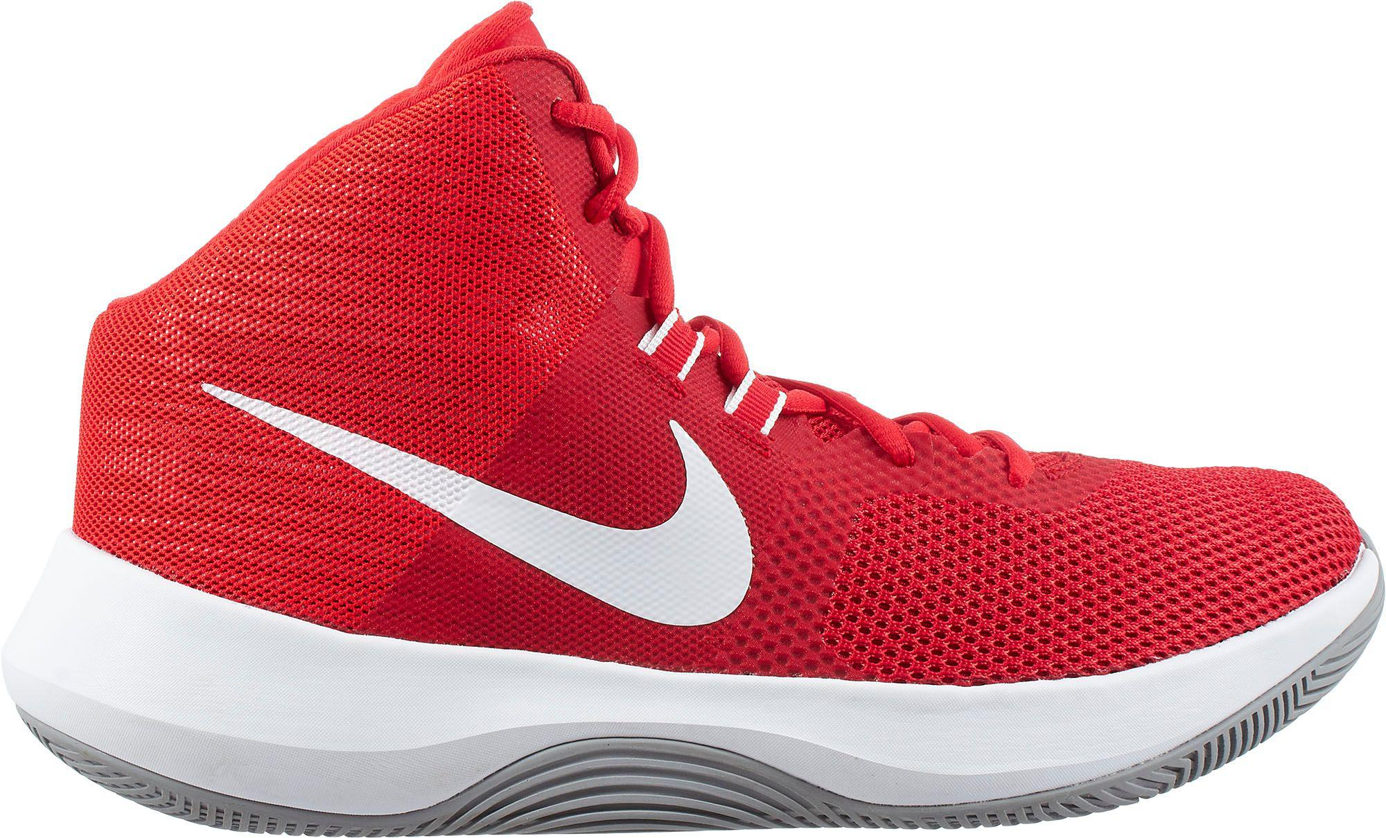 b8b4a79ba107 Lyst - Nike Air Precision Basketball Shoes in Red for Men