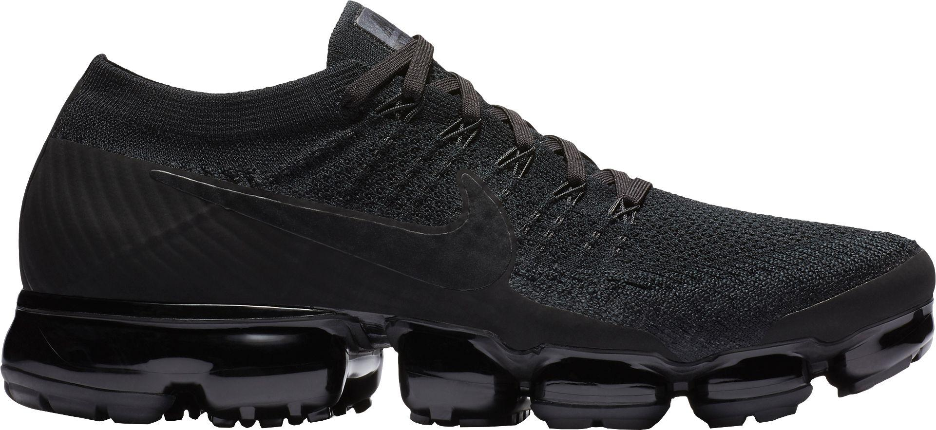 buy popular 07f68 3a6aa Nike Black Air Vapormax Flyknit Running Shoes for men