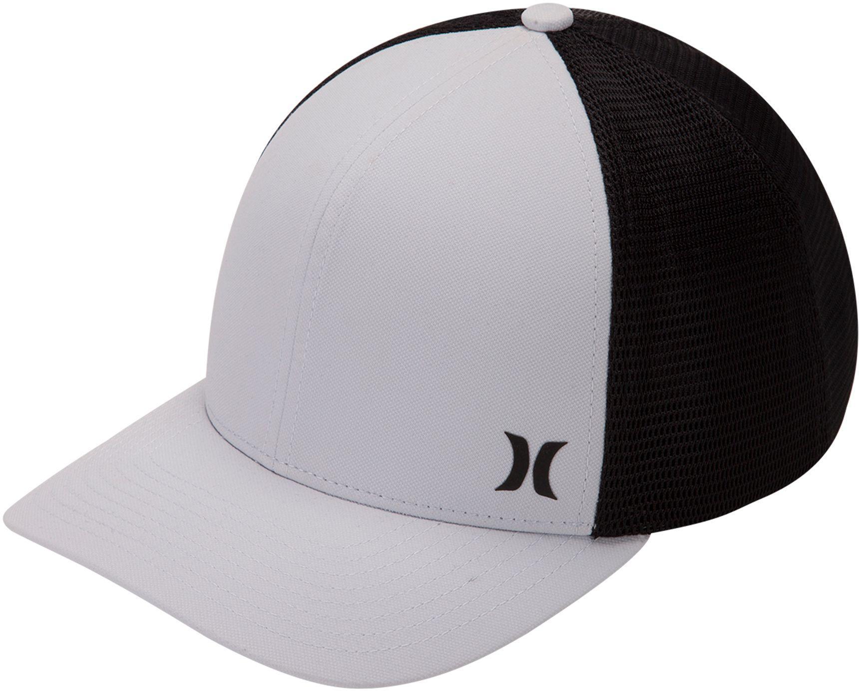 low priced ebaa4 5881e ... shop lyst hurley milner trucker hat in black for men 8b361 67b80