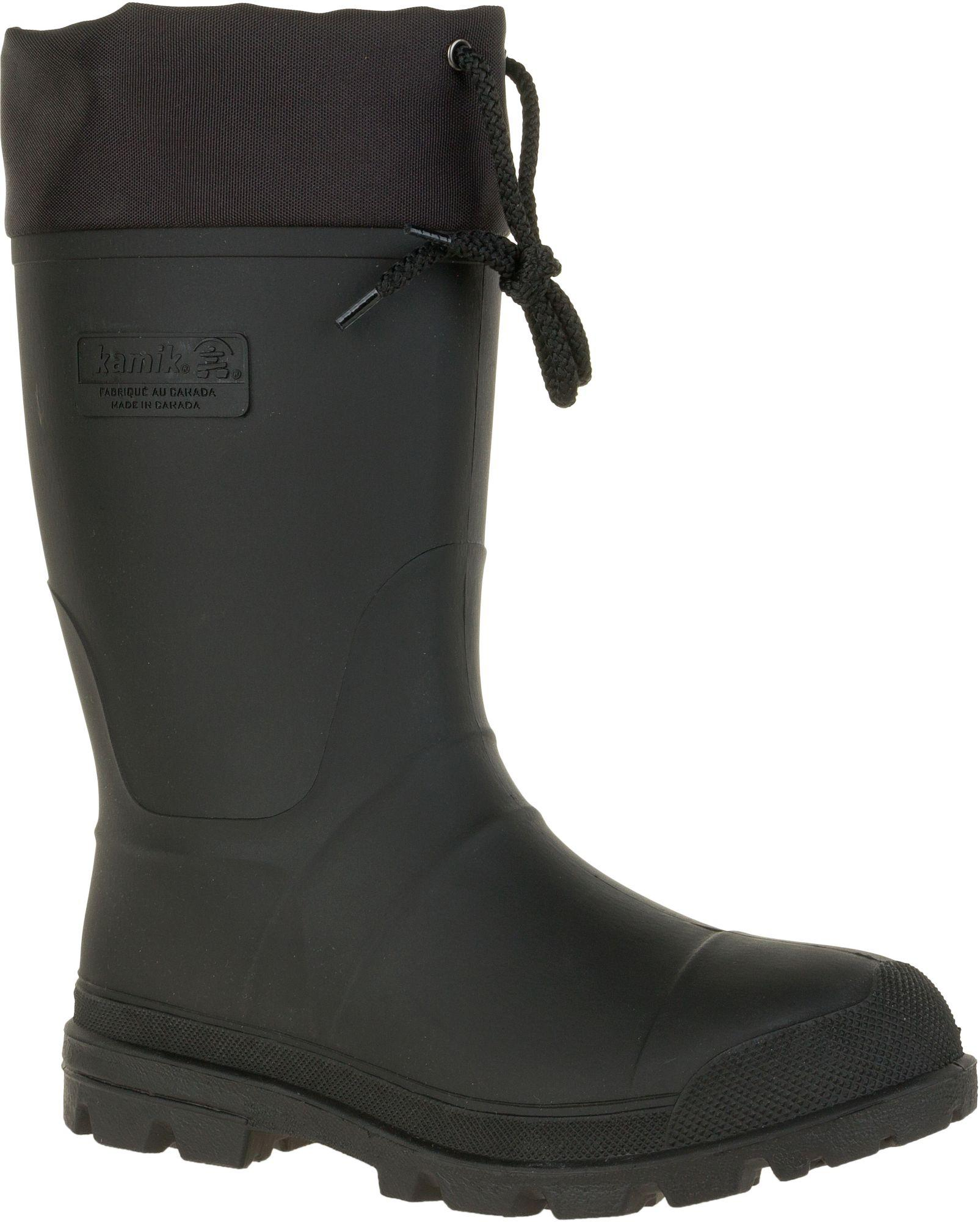 79b886dc36 Lyst - Kamik Icebreaker Insulated Rubber Hunting Boots in Black for Men