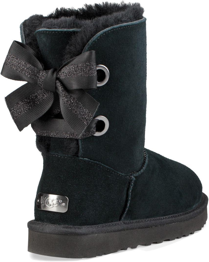 red customizable bailey bow uggs