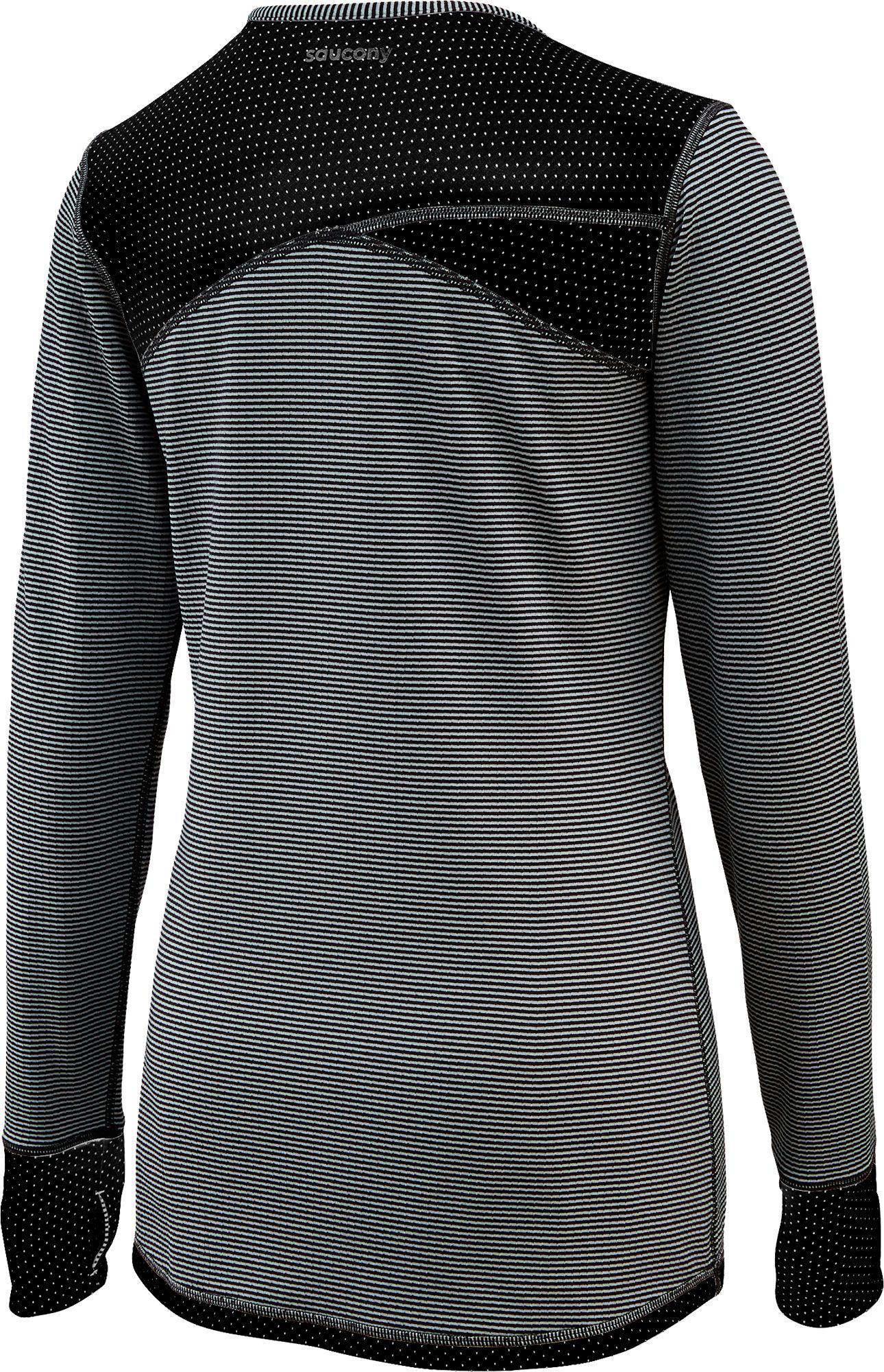 4199d02695 Saucony Gray Swift Reversible Running Long Sleeve Shirt