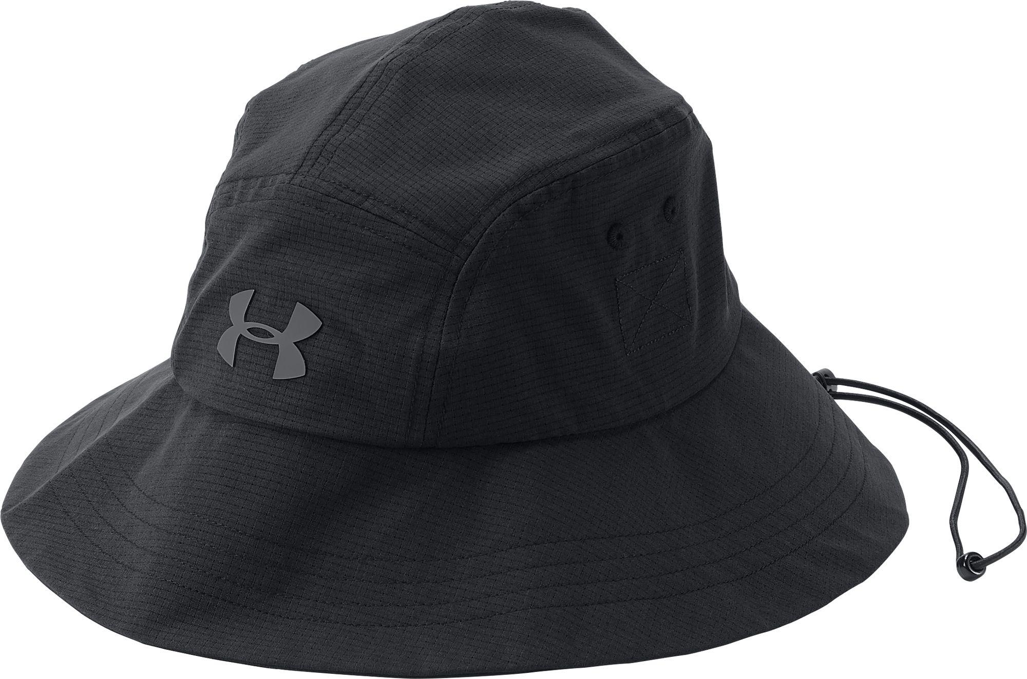 1fcdc503fb6 ... reputable site b7fca 4fc45 Under Armour. Mens Black Armourvent Warrior  2.0 Bucket Hat ...