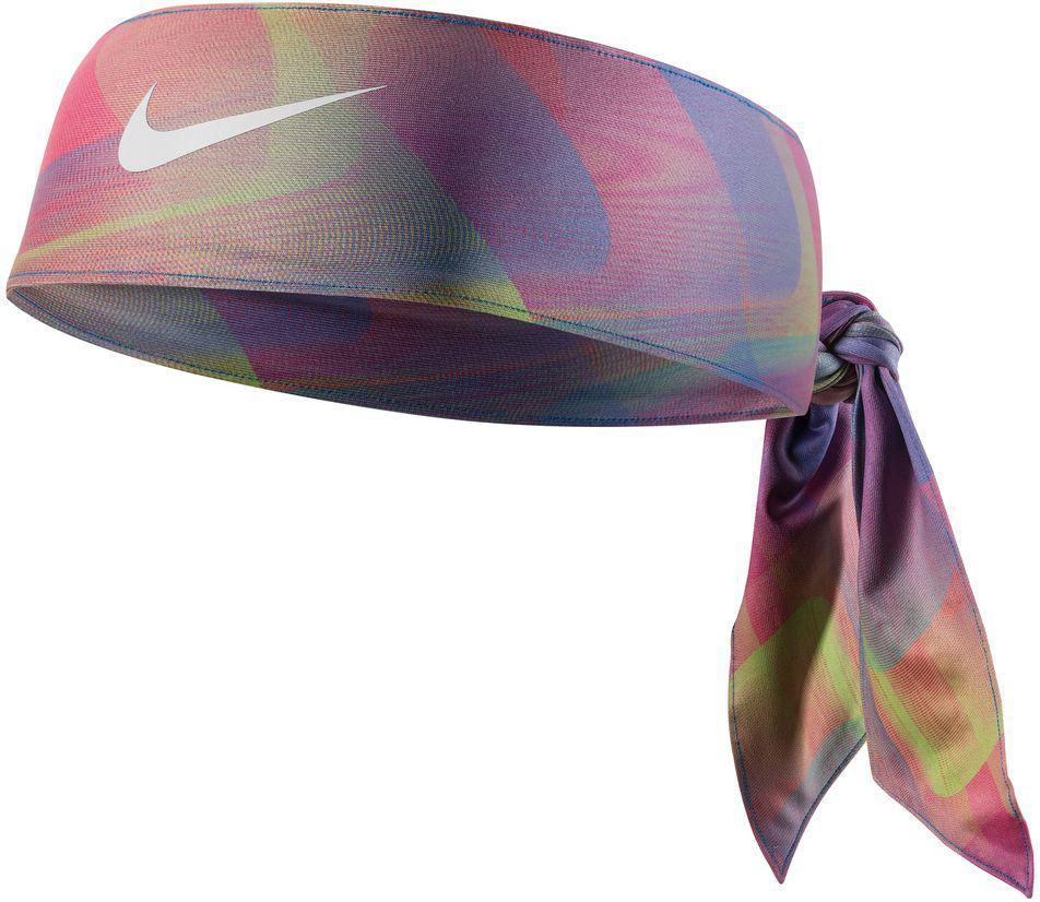 Lyst - Nike Printed Dri-fit 2.0 Head Tie in Blue a354afe2fbc