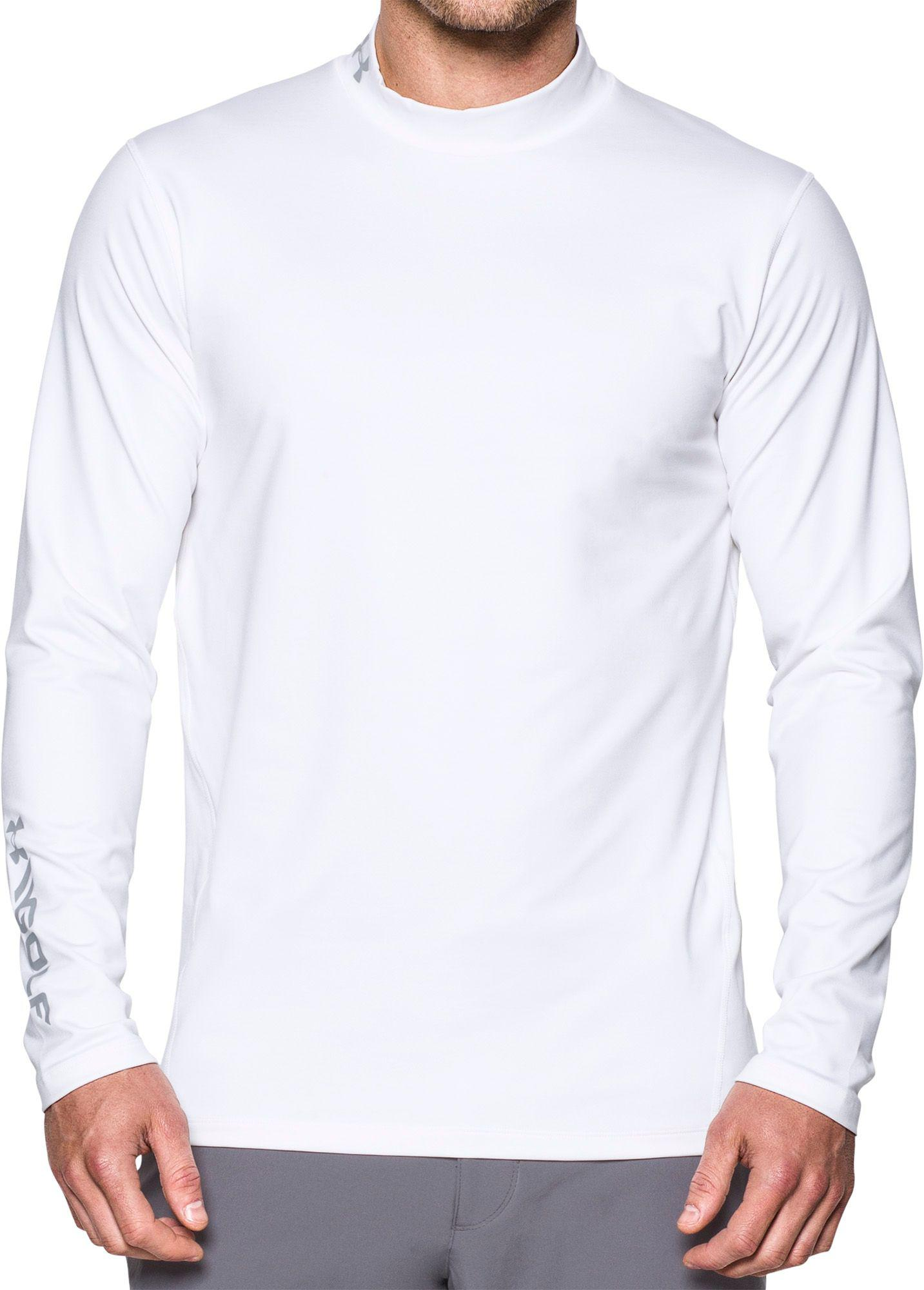 dc42bafa White Under Armour Golf Shirt – EDGE Engineering and Consulting Limited