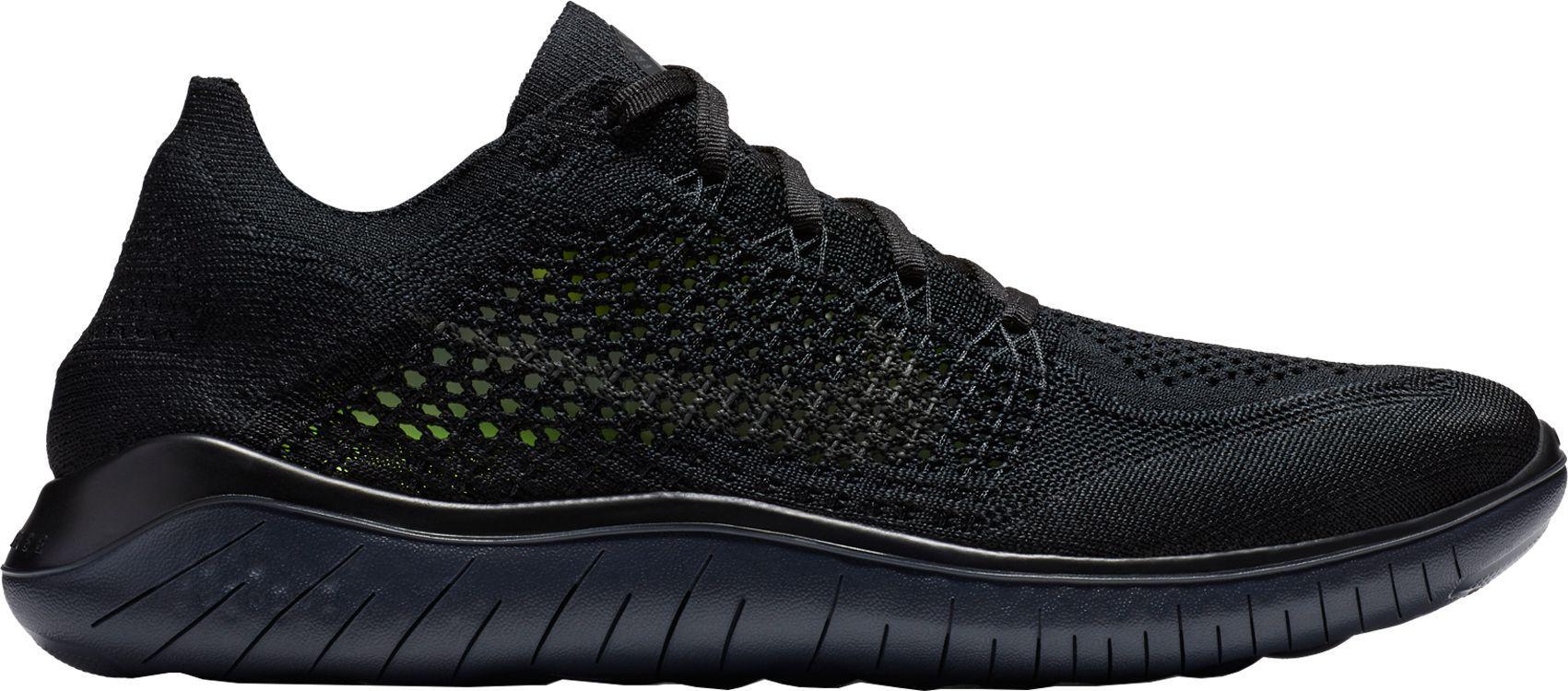 2107629036e6f Lyst - Nike Free Rn Flyknit 2018 Running Shoes in Black for Men