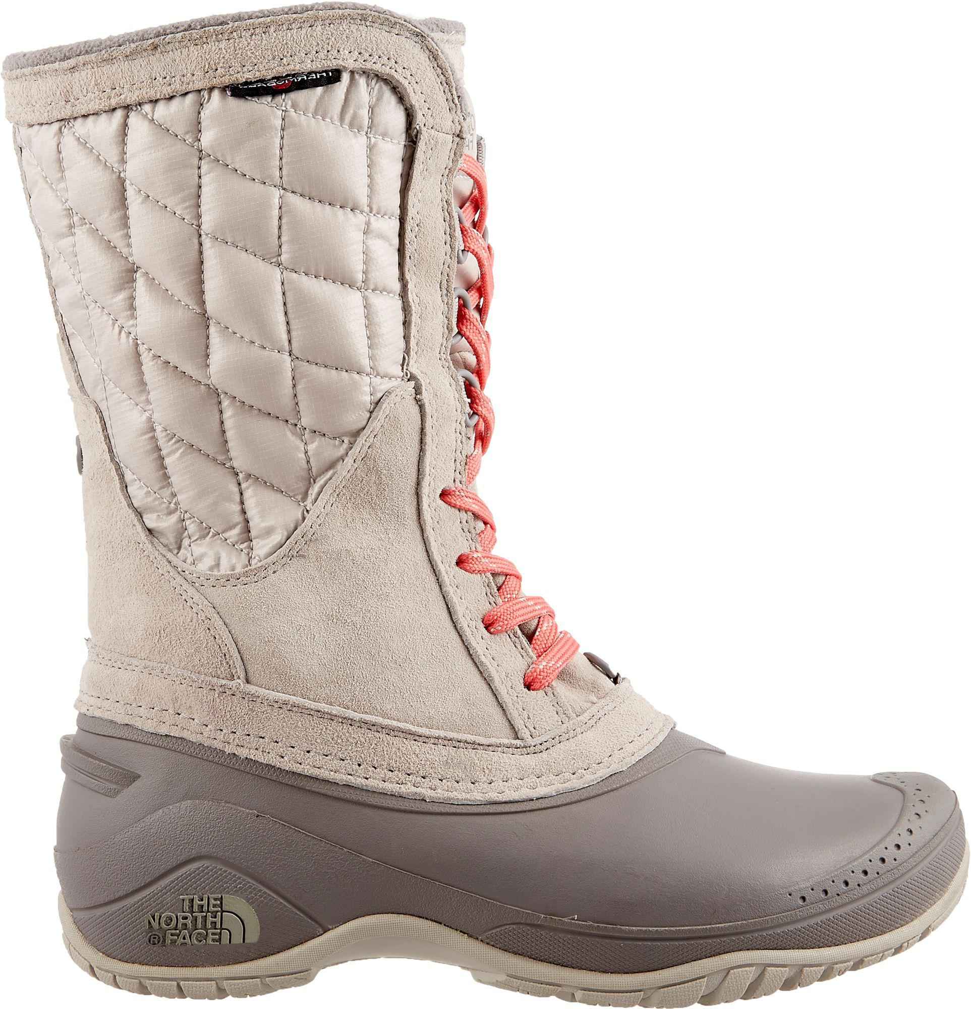 64a148fee The North Face Gray Thermoball Utility Mid Insulated Waterproof Winter Boots