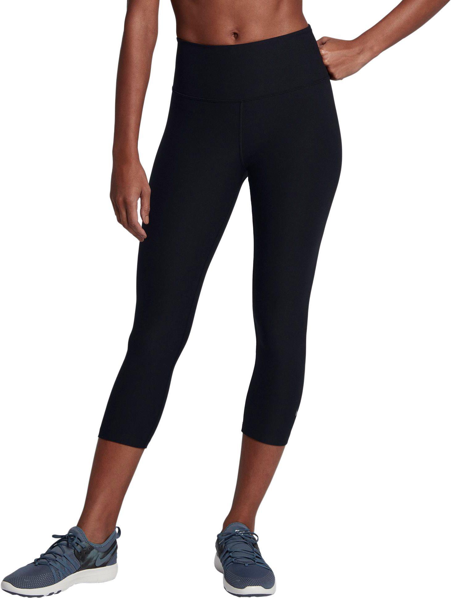 Lyst - Nike Sculpt Hyper Crop Leggings in Black 36a4cc4bbcf