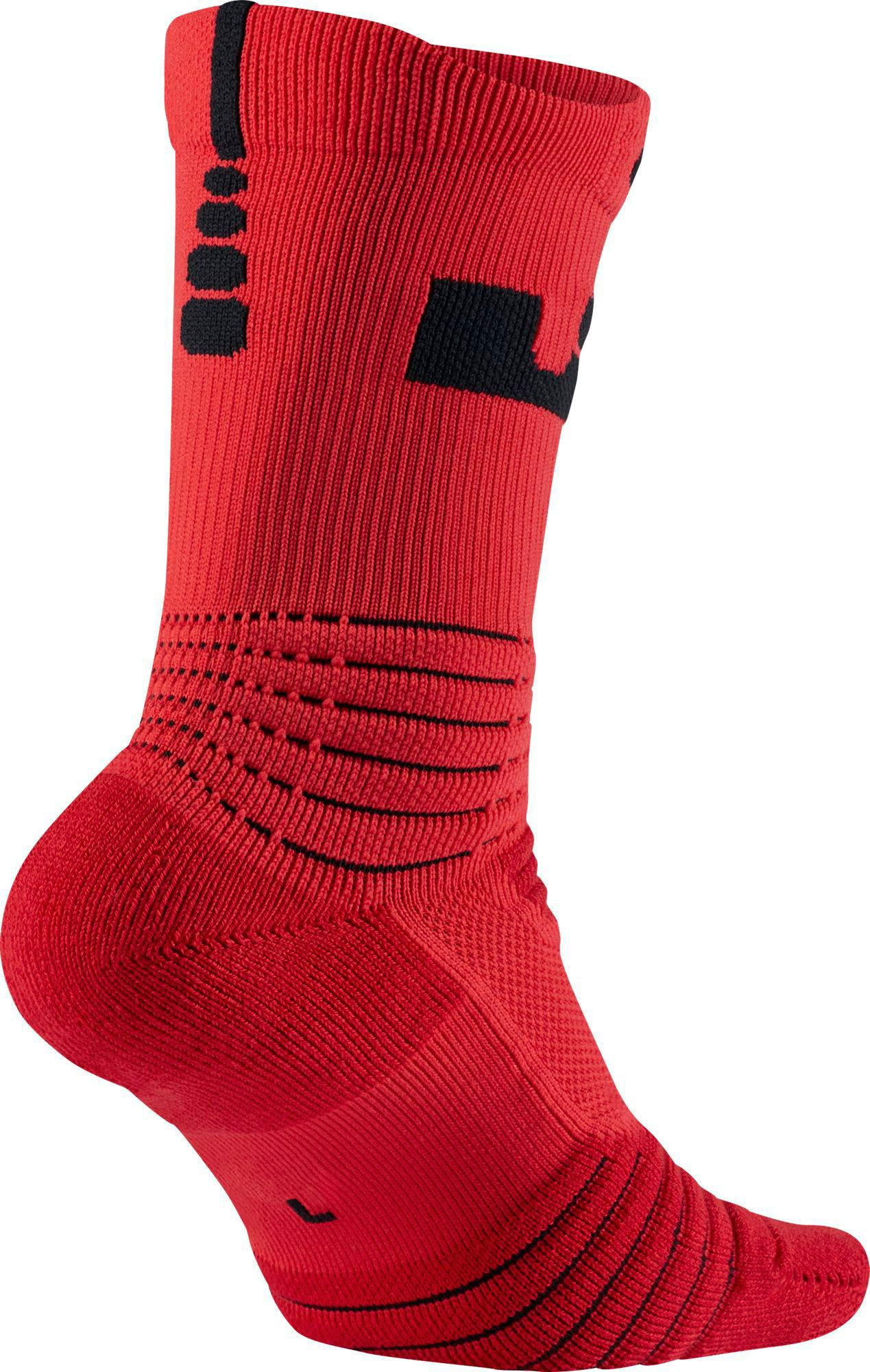 size 40 4692b 47520 Nike Lebron Elite Versatility Crew Socks in Red for Men - Lyst