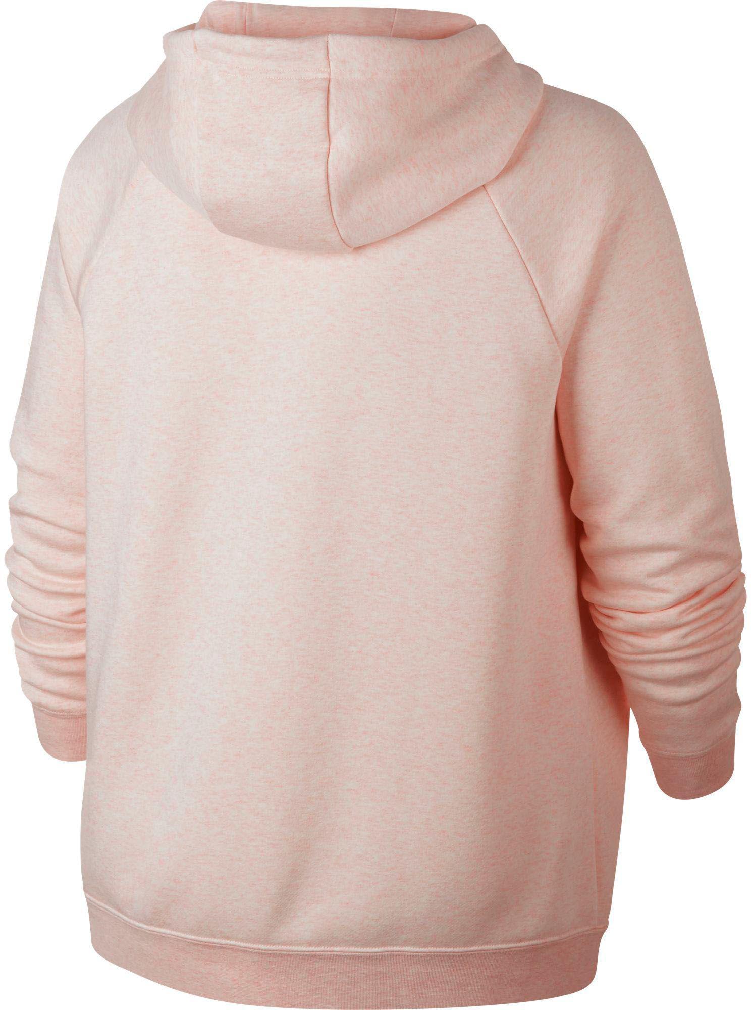 7155b2143e7d Nike - Pink Plus Size Sportswear Rally Hoodie - Lyst. View fullscreen