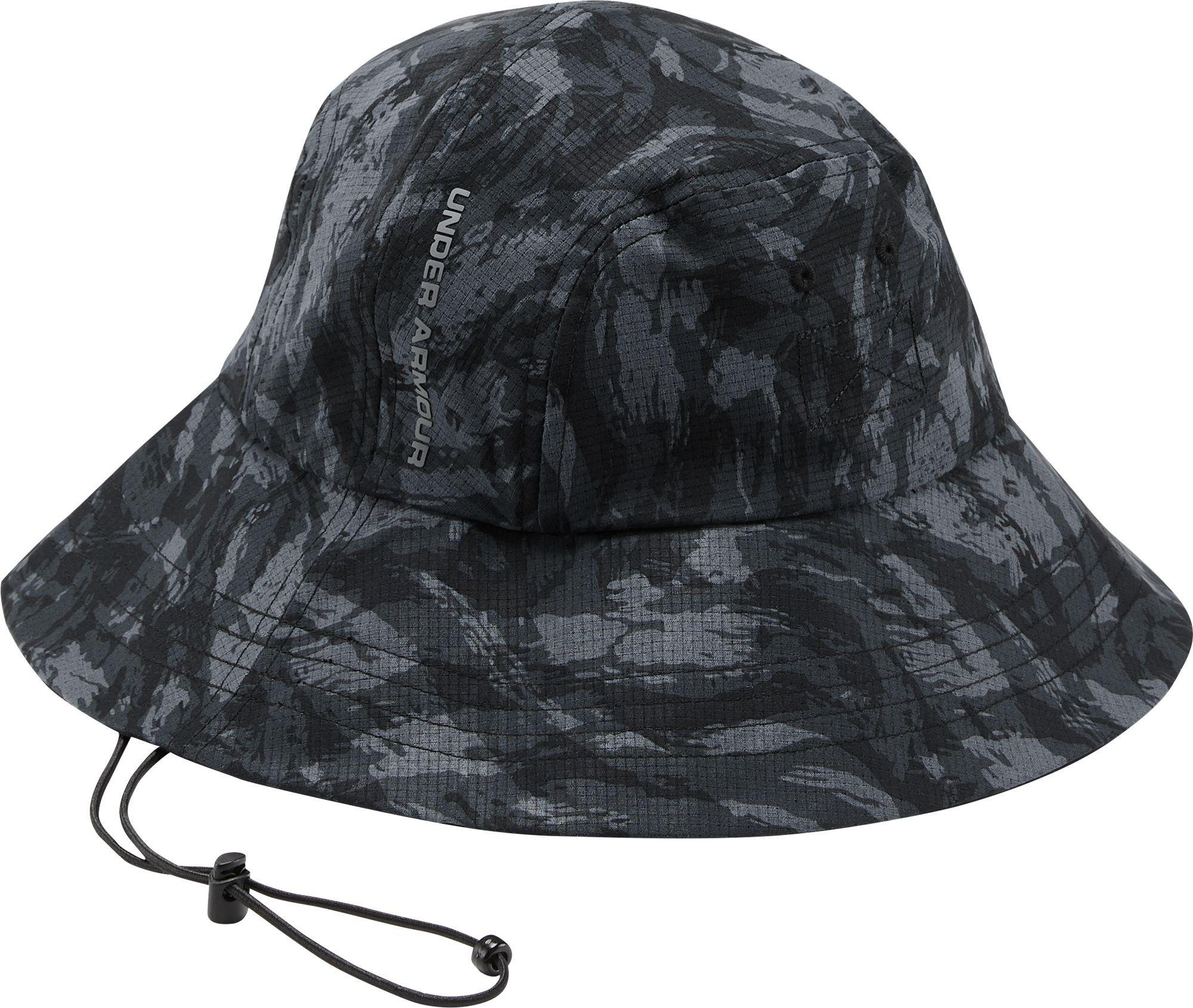 95a61c9b8 Under Armour Black Armourvent Warrior 2.0 Bucket Hat for men