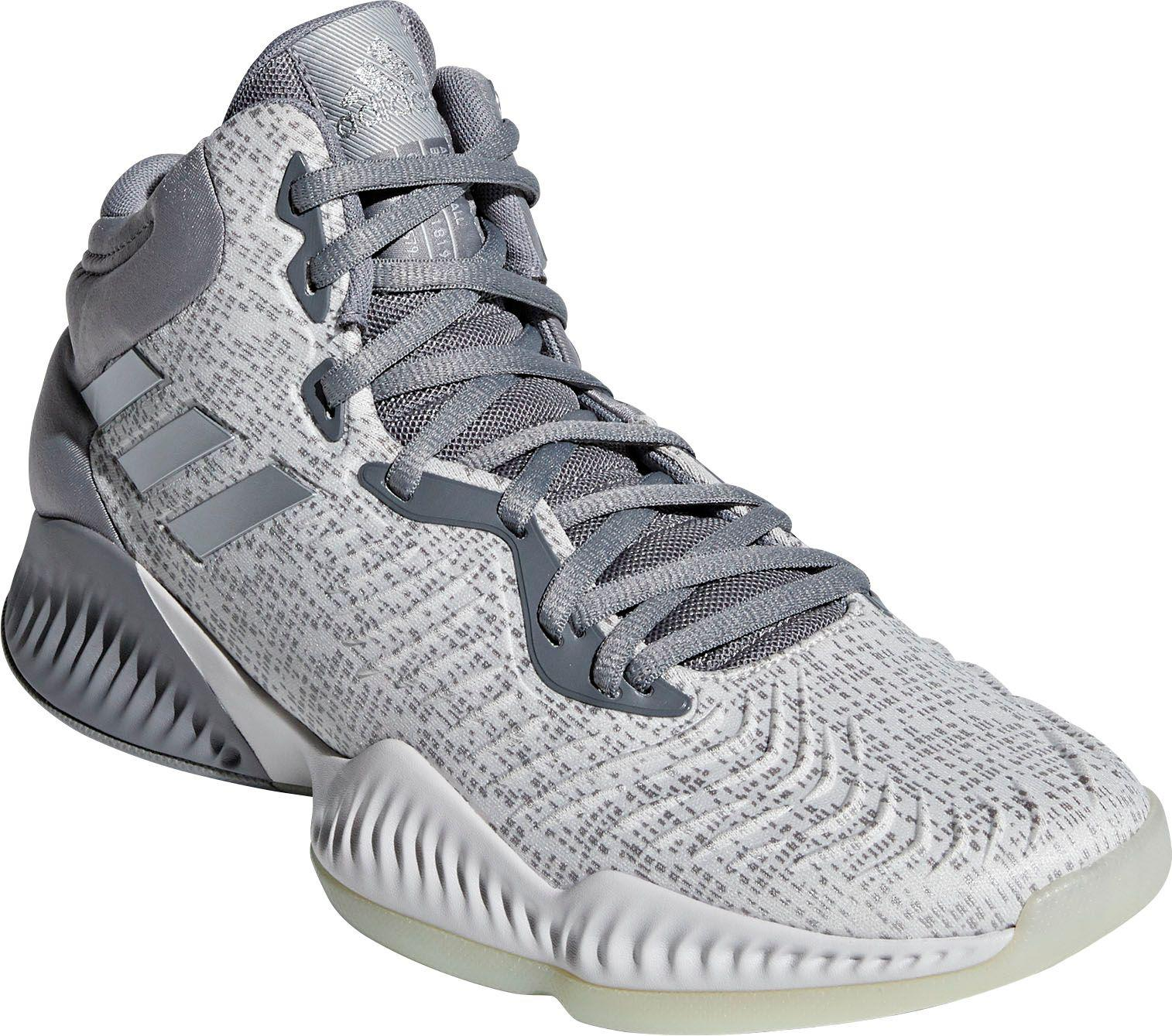 5631bc5f130d adidas Mad Bounce 2018 Basketball Shoes in Gray for Men - Lyst