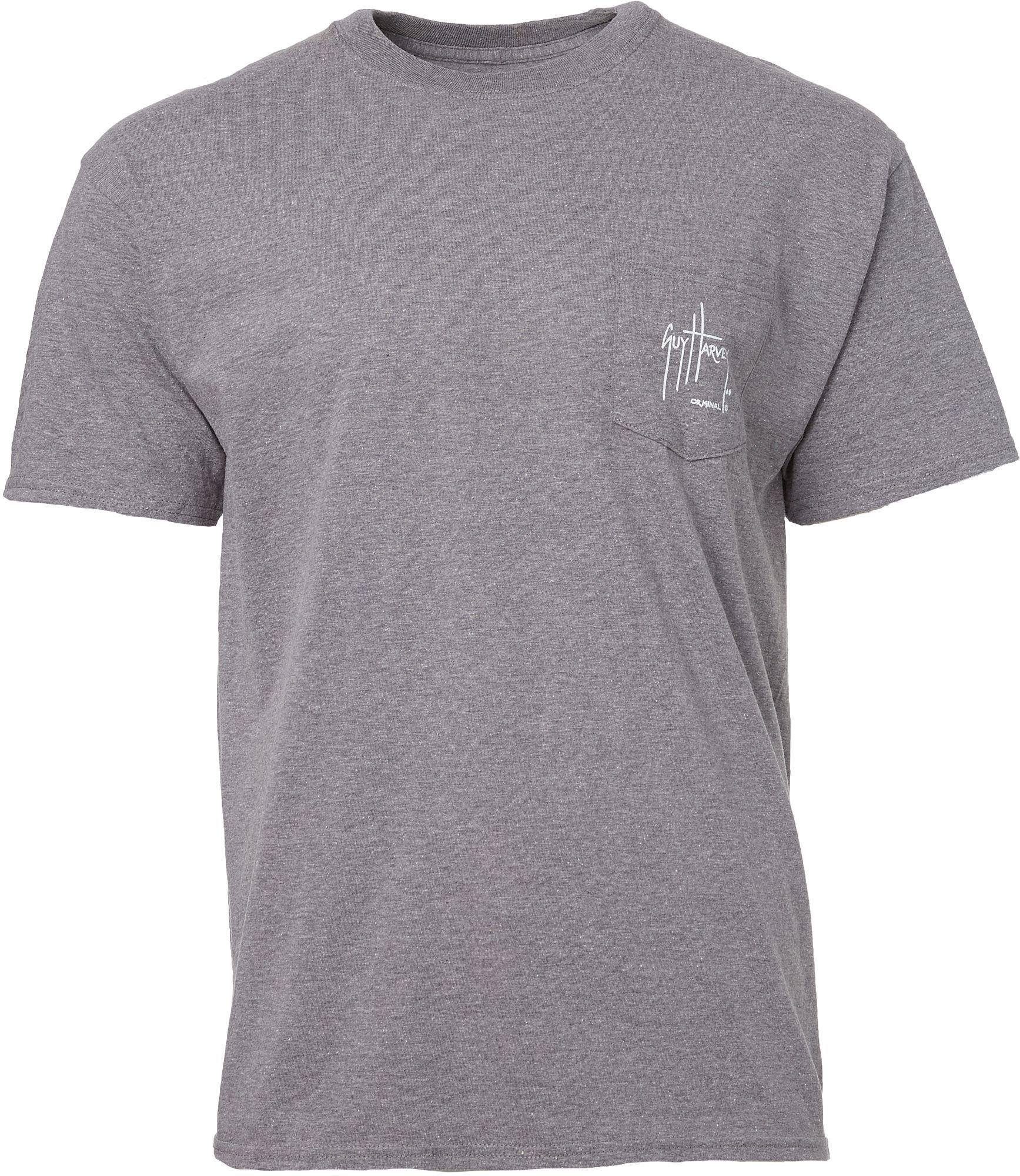 3fd2113a222a8 Lyst - Guy Harvey Mosaic Short Sleeve Tee in Gray for Men