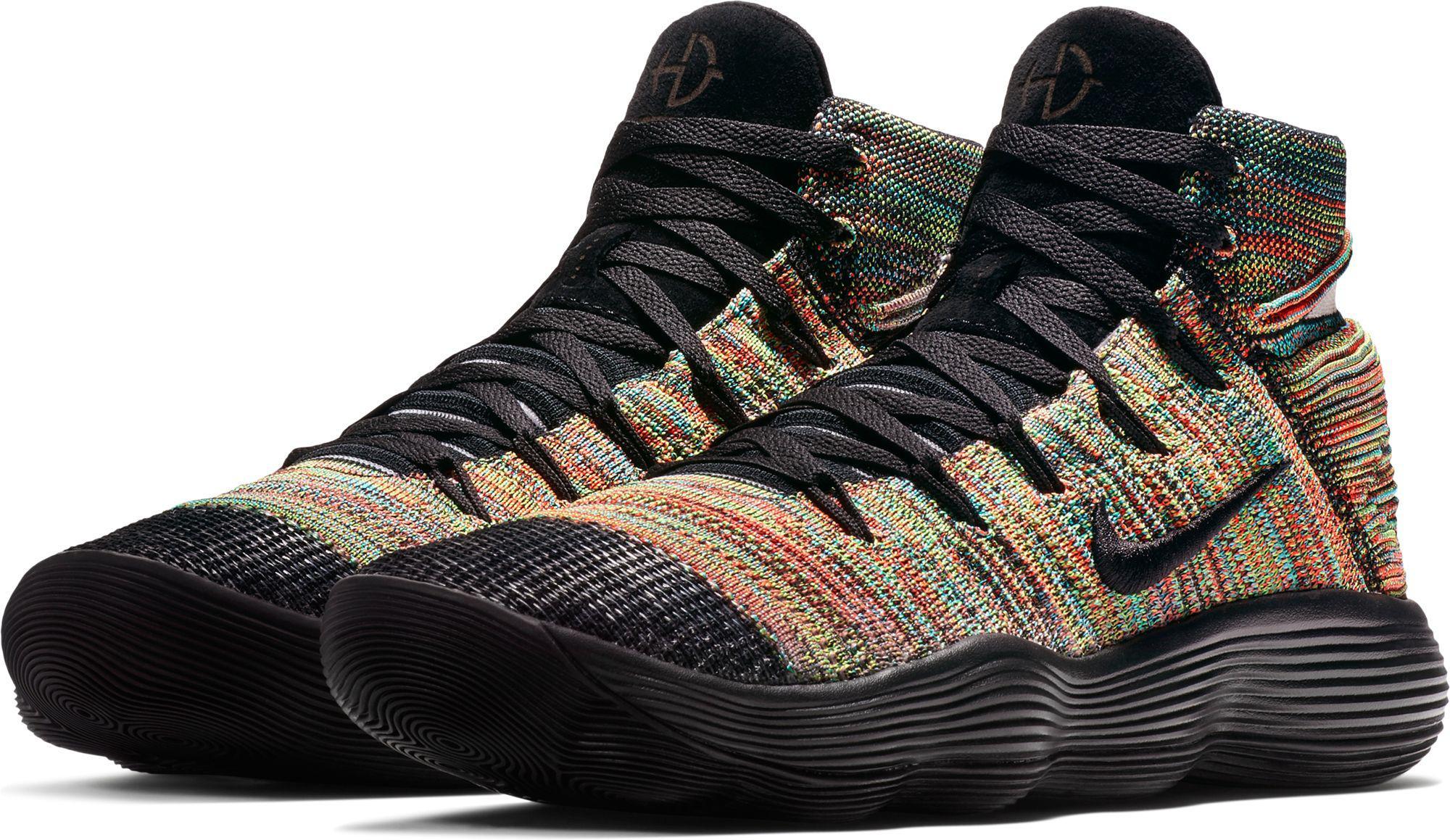 78a55e9149b4c Nike - Black React Hyperdunk 2017 Flyknit Basketball Shoes for Men - Lyst