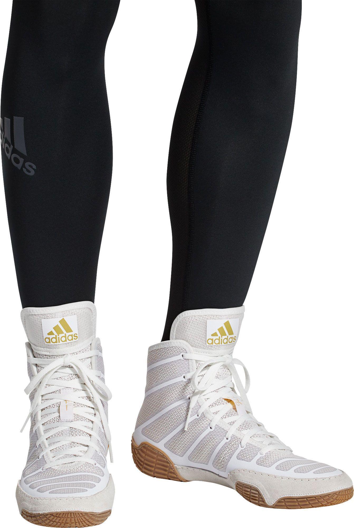 adidas adizero varner 2 white and gold