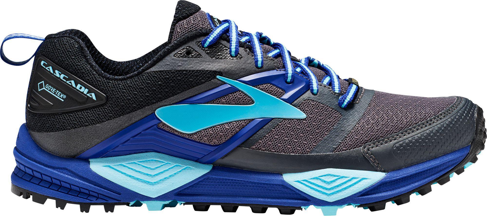 0f1576da34e Lyst - Brooks Cascadia 12 Gtx Running Shoes in Black